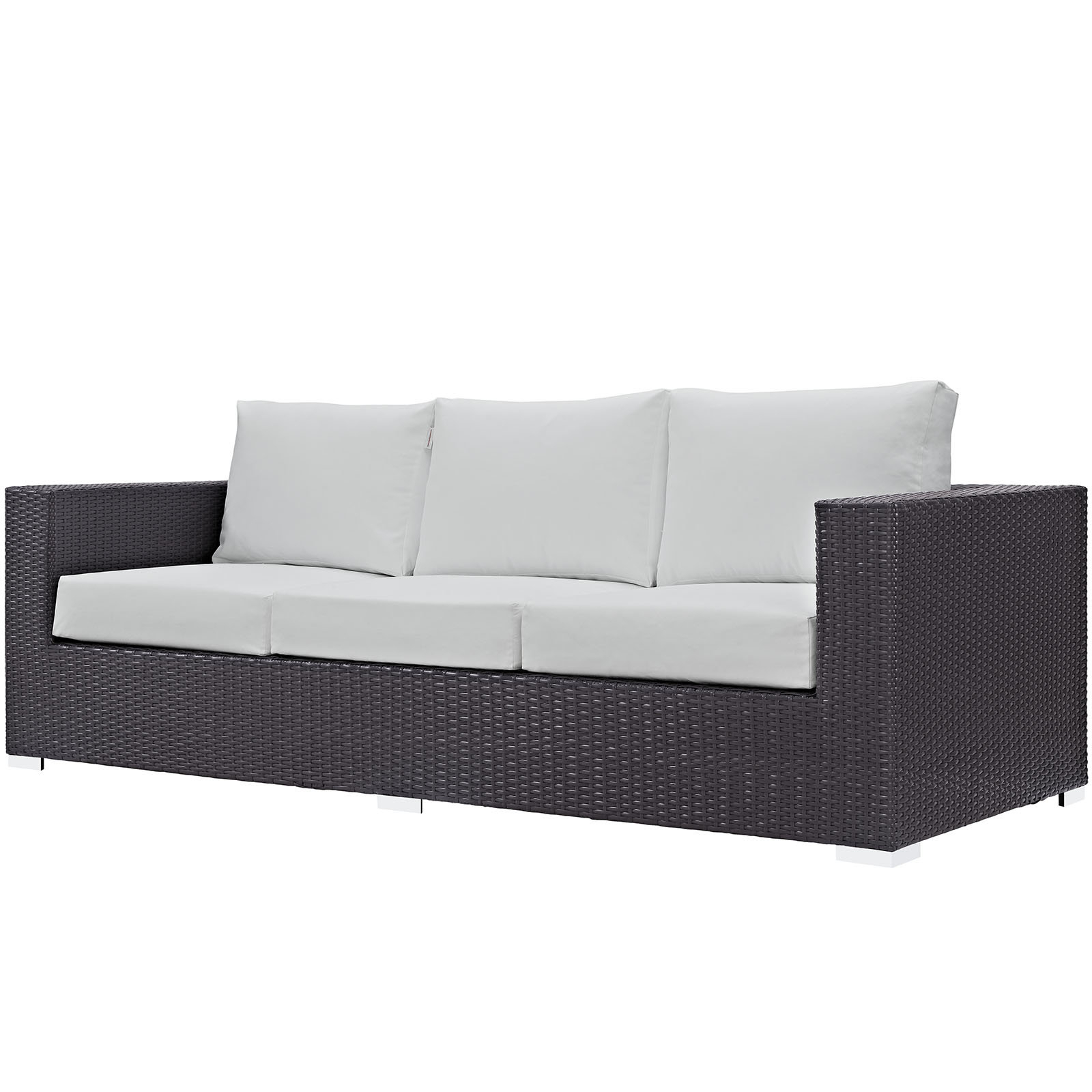 Loggins Patio Sofas With Cushions With Regard To Trendy Brentwood Patio Sofa With Cushions & Reviews (Gallery 18 of 20)