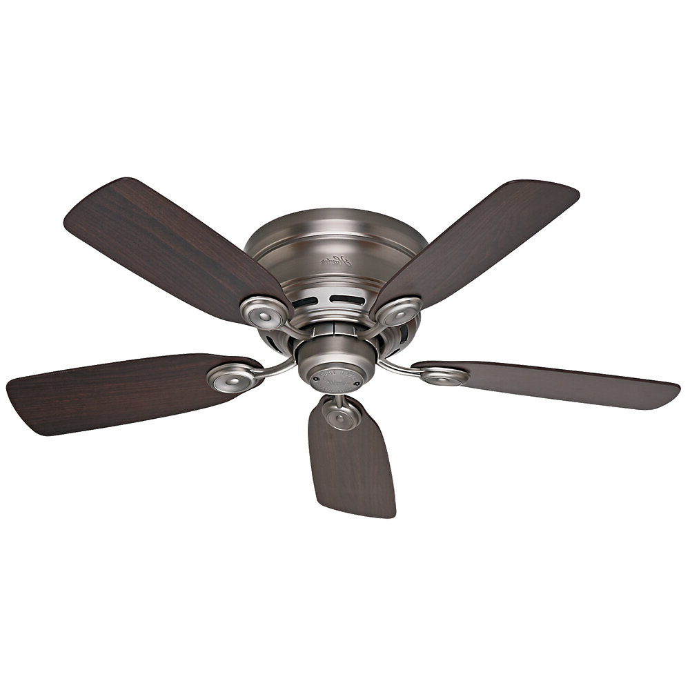Featured Photo of Low Profile Iv 5 Blade Ceiling Fans
