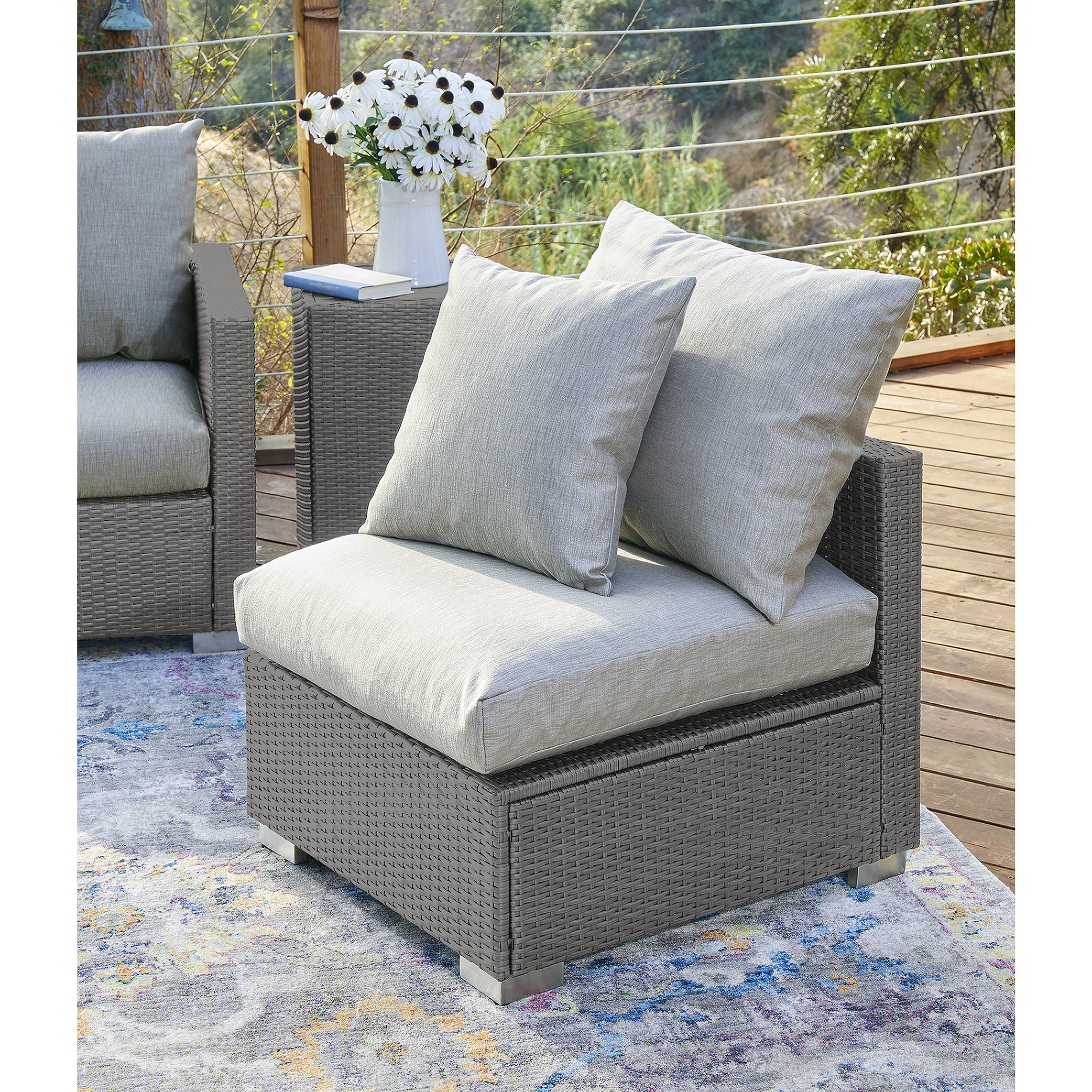 Mcmanis Patio Sofas With Cushion In Most Recently Released Mcmanis Outdoor Patio Chair With Cushions (View 10 of 20)
