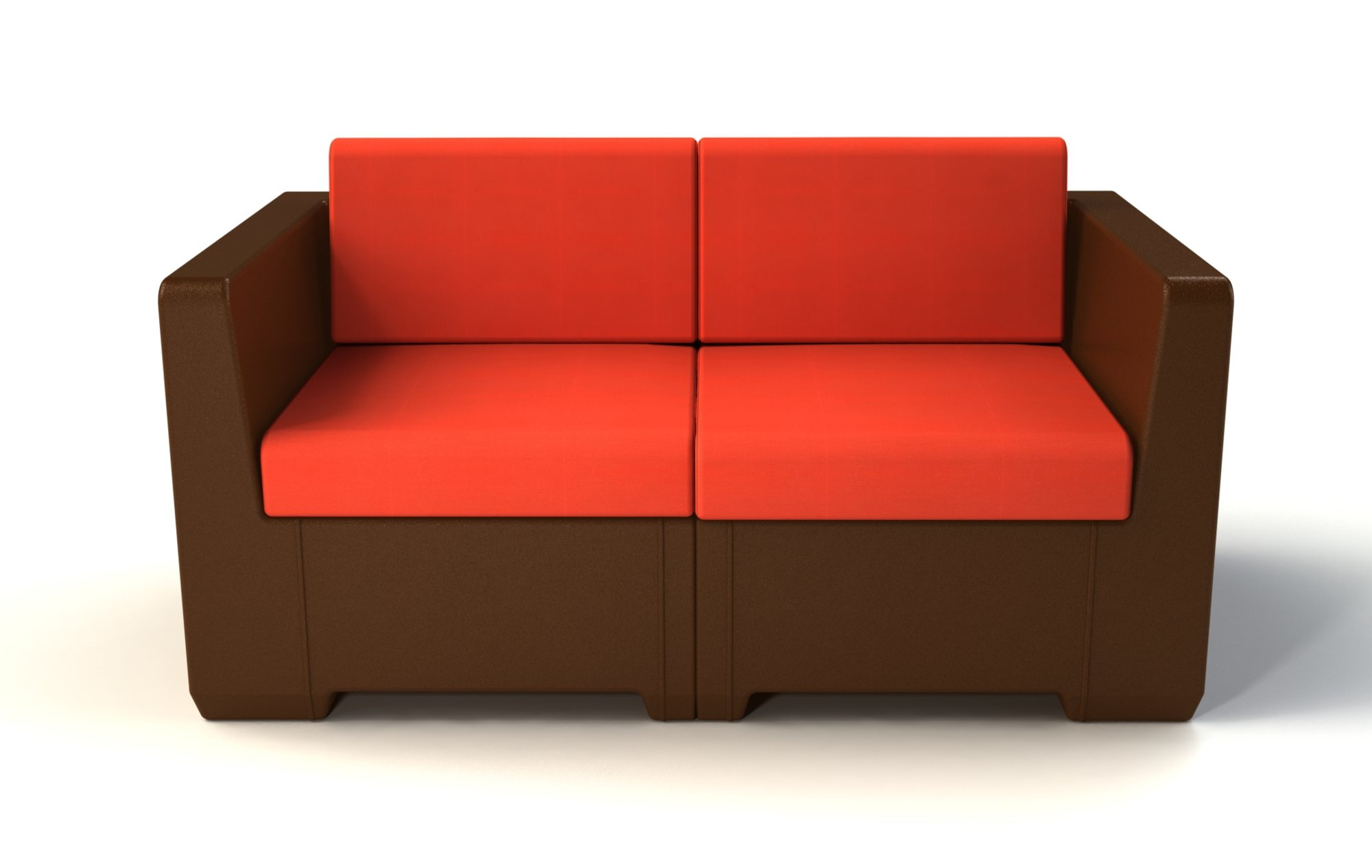 Mendelson Loveseats With Cushion Throughout Fashionable Sturtevant Loveseat With Cushion (View 9 of 20)