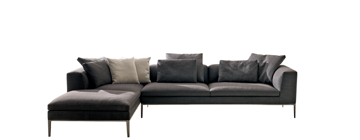 Michal Patio Sofas With Cushions For Preferred Sofa Michel  B&b Italia – Designantonio Citterio (View 9 of 20)