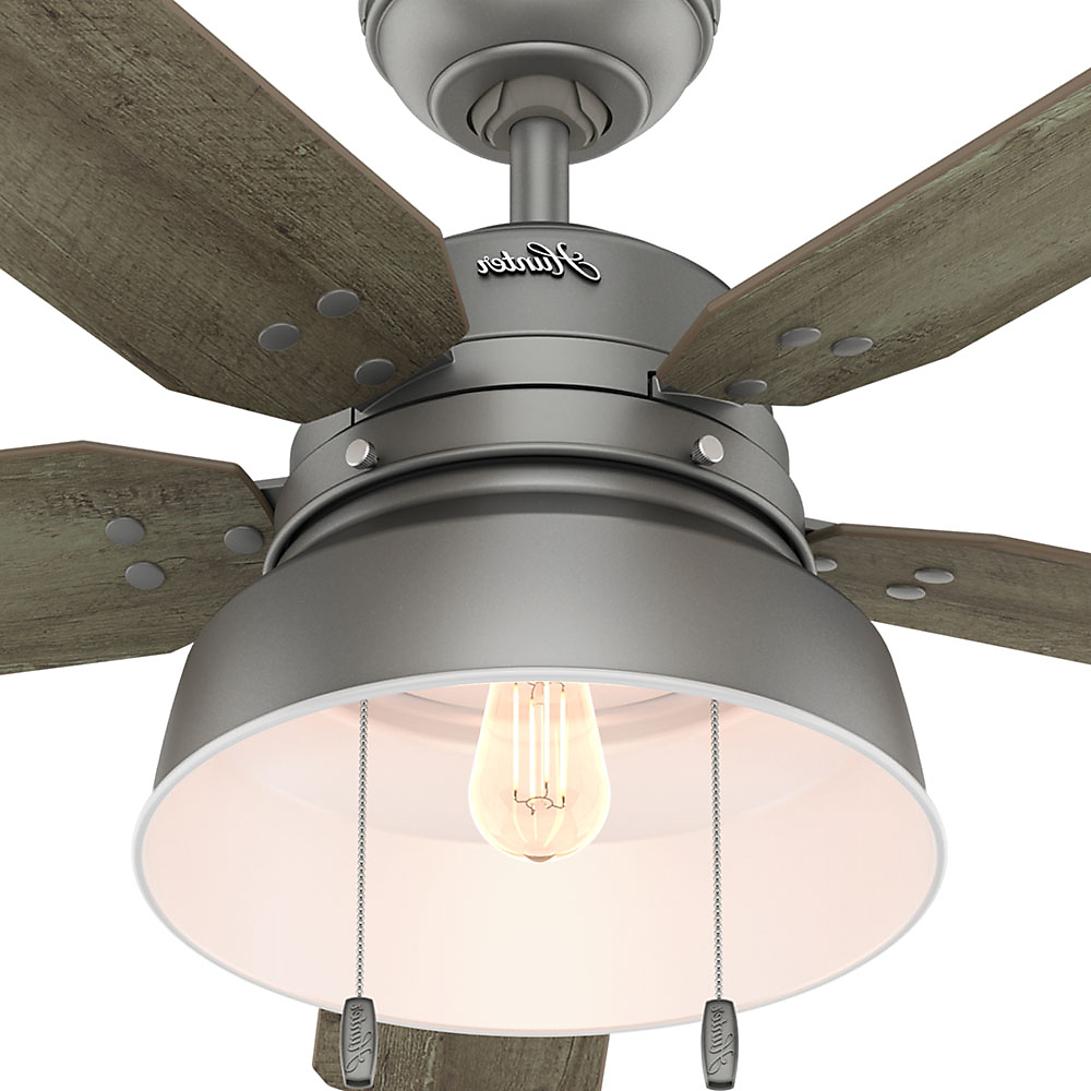 Mill Valley 5 Blade Ceiling Fans Regarding Fashionable Hunter/casablanca Fan Co (View 12 of 20)
