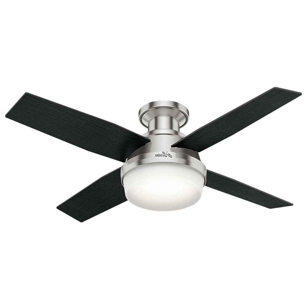 Mill Valley 5 Blade Ceiling Fans Regarding Well Known Hunter 59243 44 In (View 18 of 20)