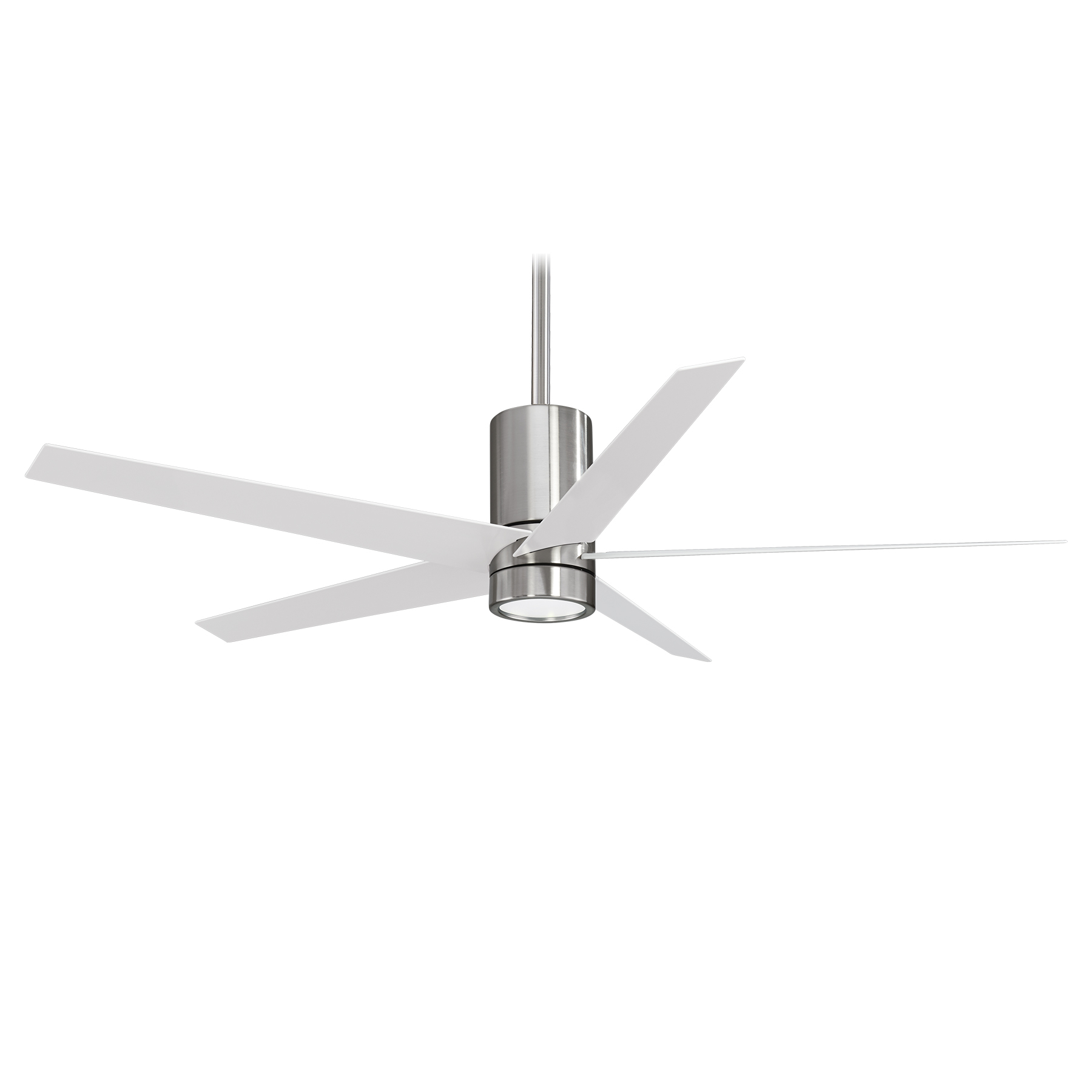 Minka Group® :: Brands :: Minka Aire® :: F828 Bn/wh For Best And Newest Symbio 5 Blade Led Ceiling Fans (View 9 of 20)