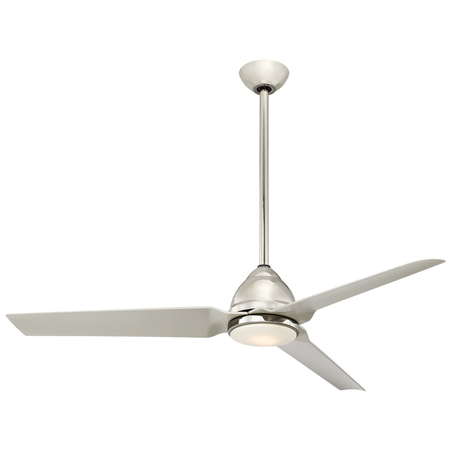 """Minkaaire Java Led Java 54"""" 3 Blade Indoor / Outdoor Led Ceiling Fan With  Remote Included Within 2020 Java 3 Blade Outdoor Led Ceiling Fans (View 14 of 20)"""