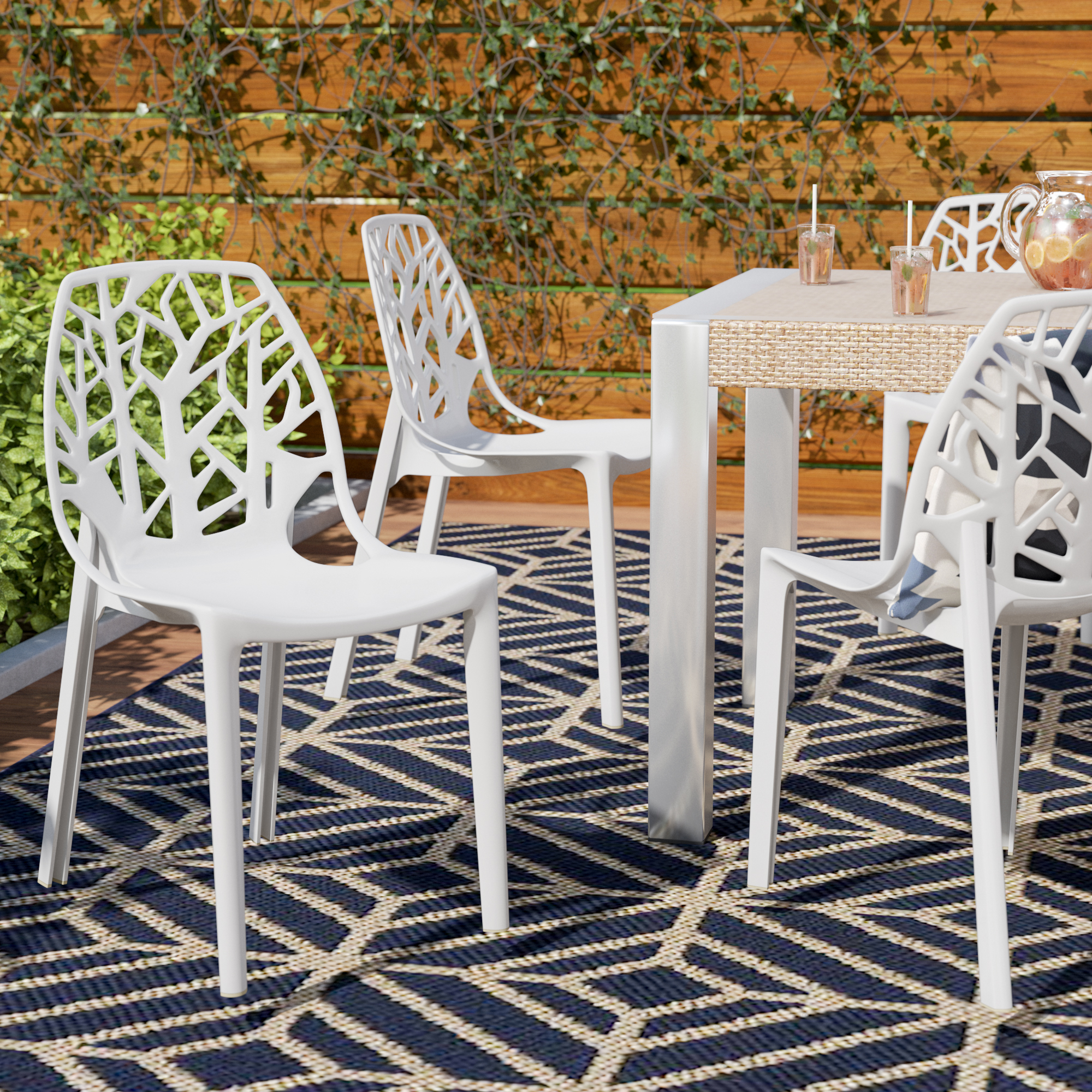 Modern Plastic Outdoor Furniture (View 25 of 25)