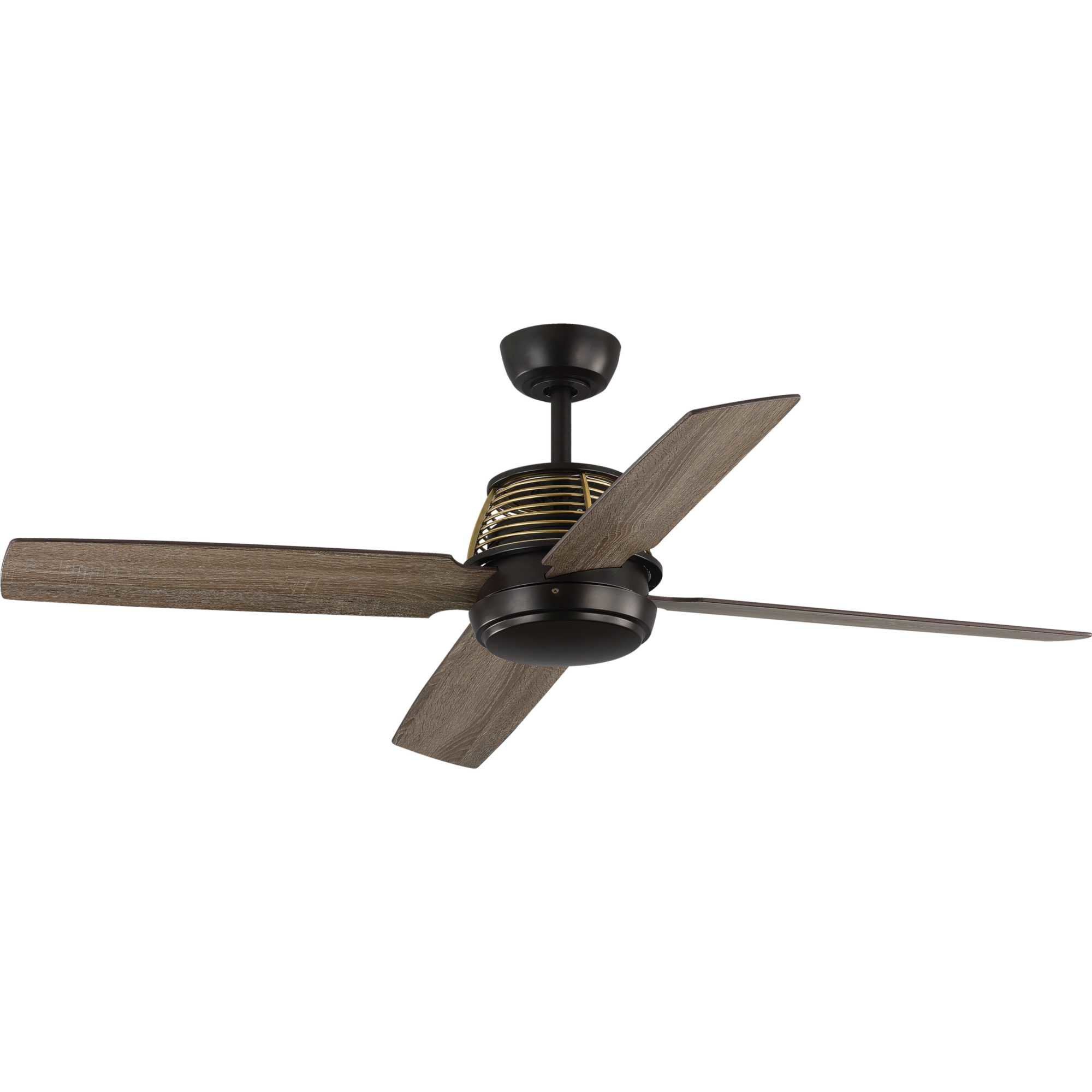 "Morton 3 Blade Ceiling Fans For Widely Used 56"" Arine 4 Blade Ceiling Fan With Remote (View 7 of 20)"