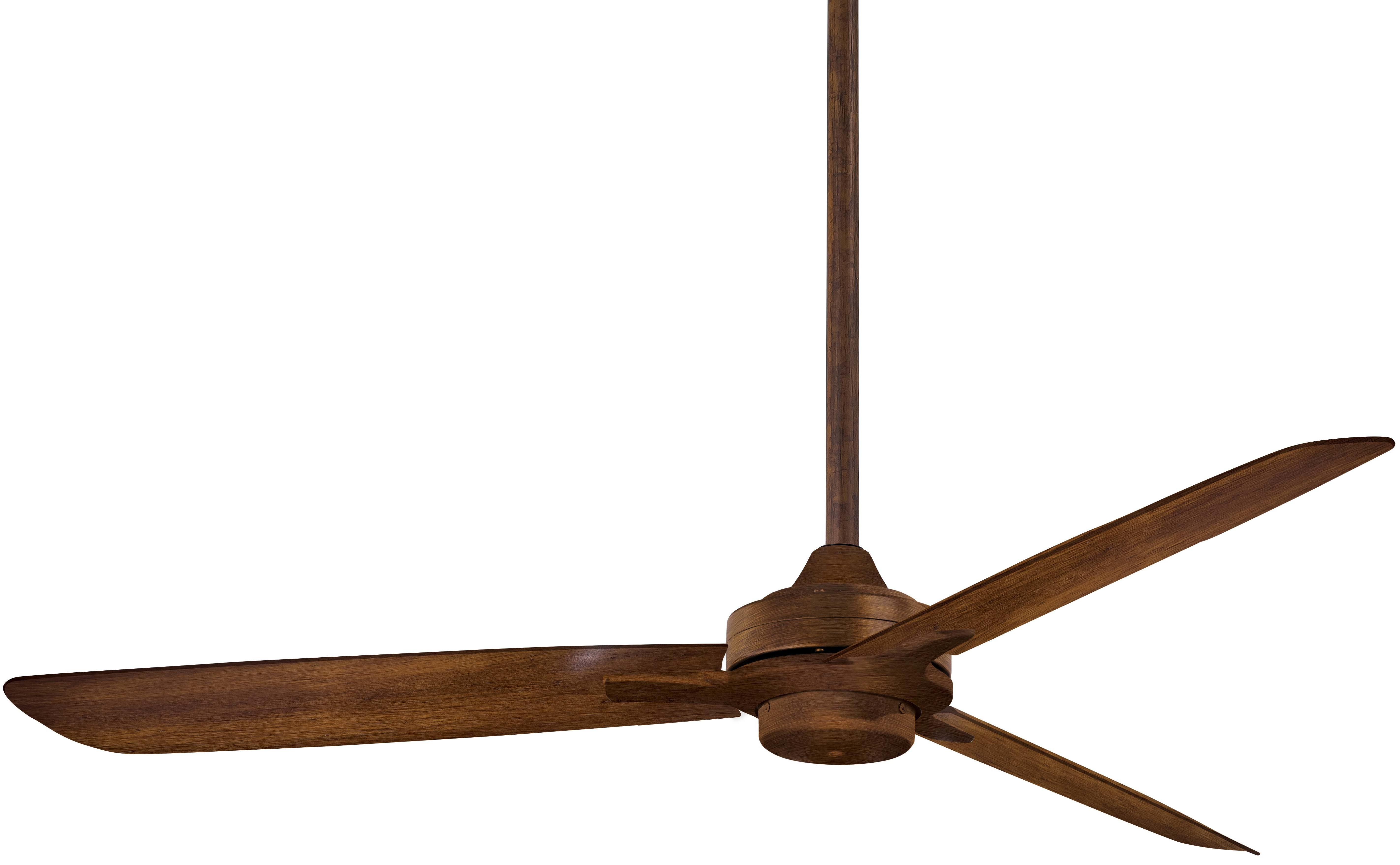 "Most Current 52"" Rudolph 3 Blade Ceiling Fan Within Rudolph 3 Blade Ceiling Fans (View 4 of 20)"