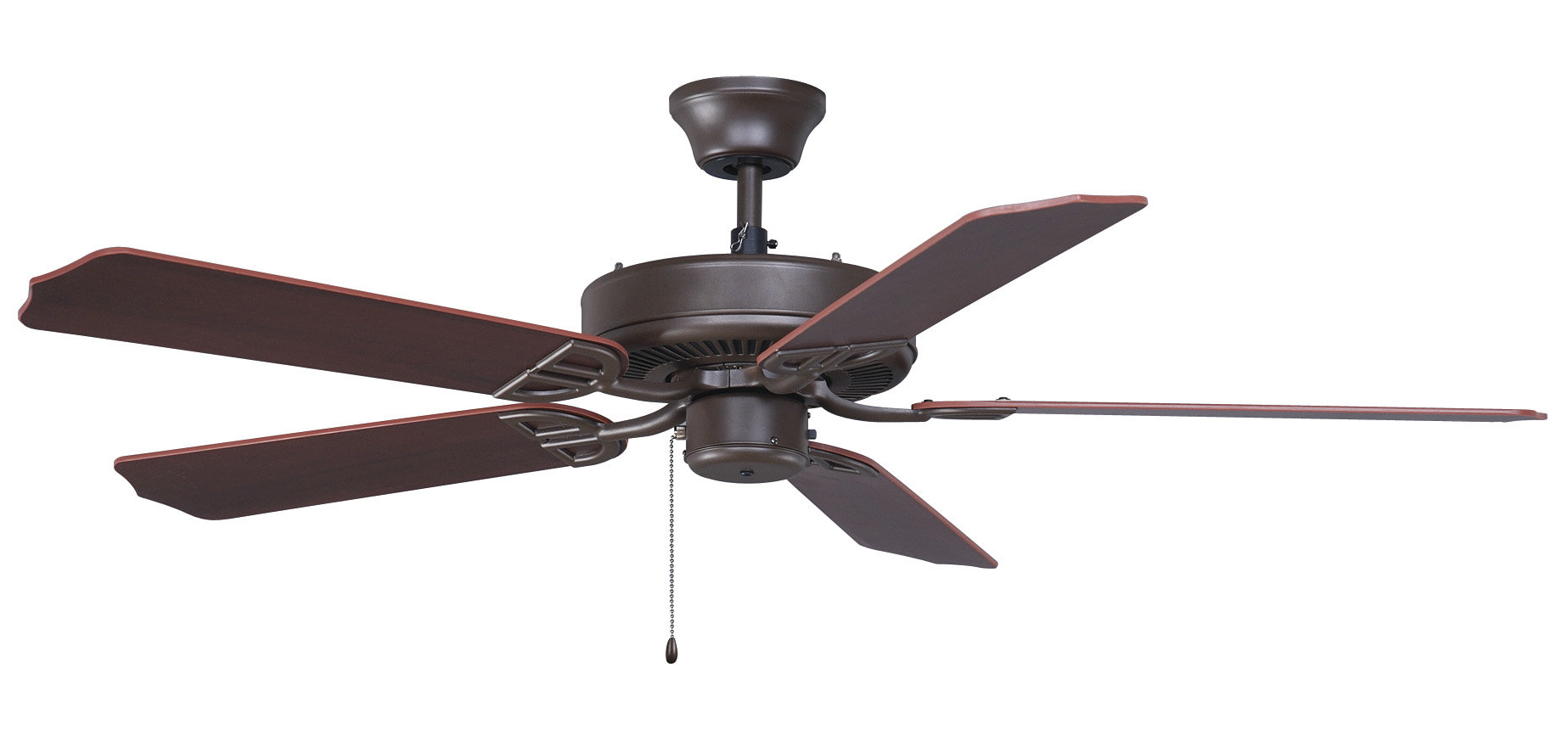 "Most Current Builder 5 Blade Ceiling Fans Pertaining To 52"" Builder 5 Blade Indoor/outdoor Ceiling Fan (View 17 of 20)"