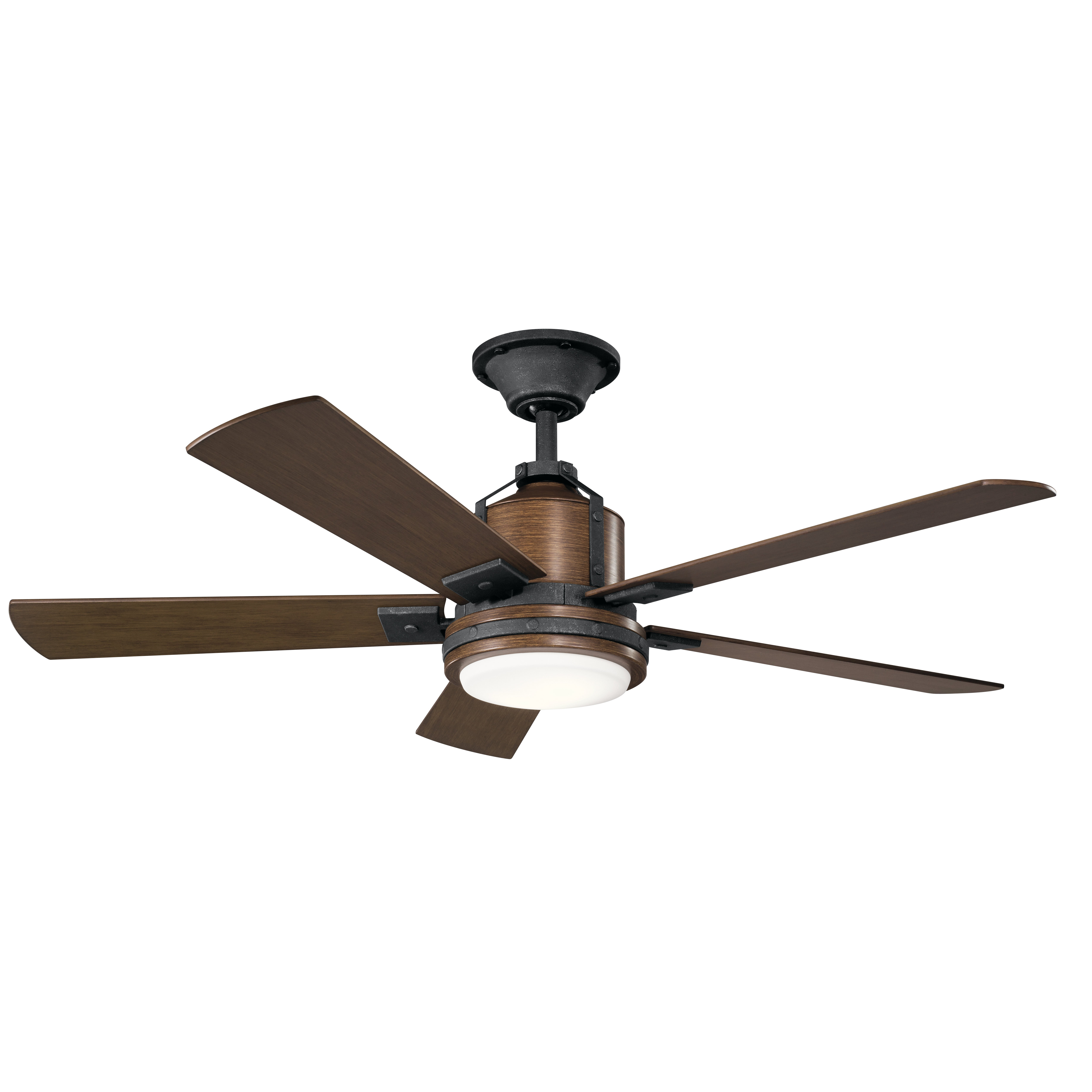 """Most Current Cerro 5 Blade Ceiling Fans With Regard To 52"""" Howells 5 Blade Led Ceiling Fan (View 14 of 20)"""