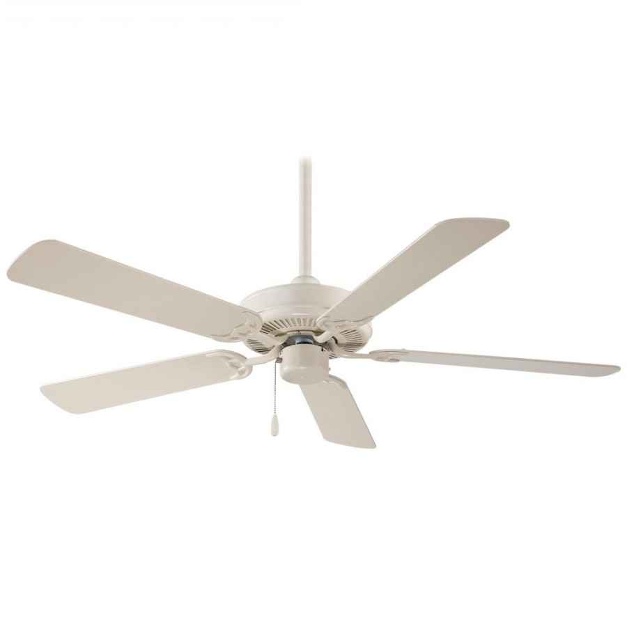 Most Current Contractor 5 Blade Ceiling Fans Inside Minka Aire F547 Contractor 5 Blade 52 Inch Ceiling Fan (View 13 of 20)