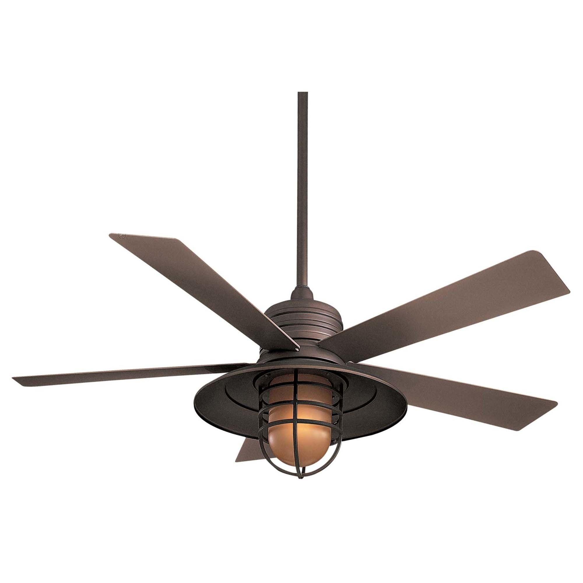 Most Current Rainman 5 Blade Outdoor Ceiling Fans Throughout Displaying Photos Of Outdoor Ceiling Fans With Led Globe (View 9 of 20)