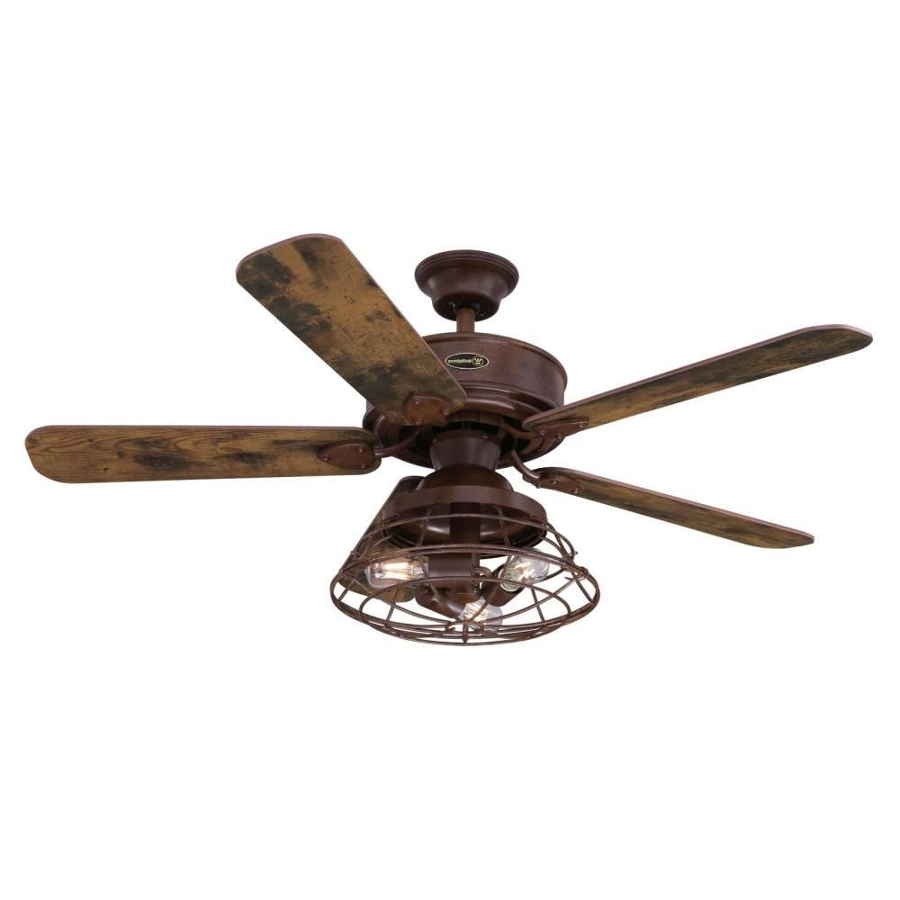 Most Current Wilburton 5 Blade Ceiling Fans With Remote Inside Westinghouse Barnett 48 In (View 10 of 20)