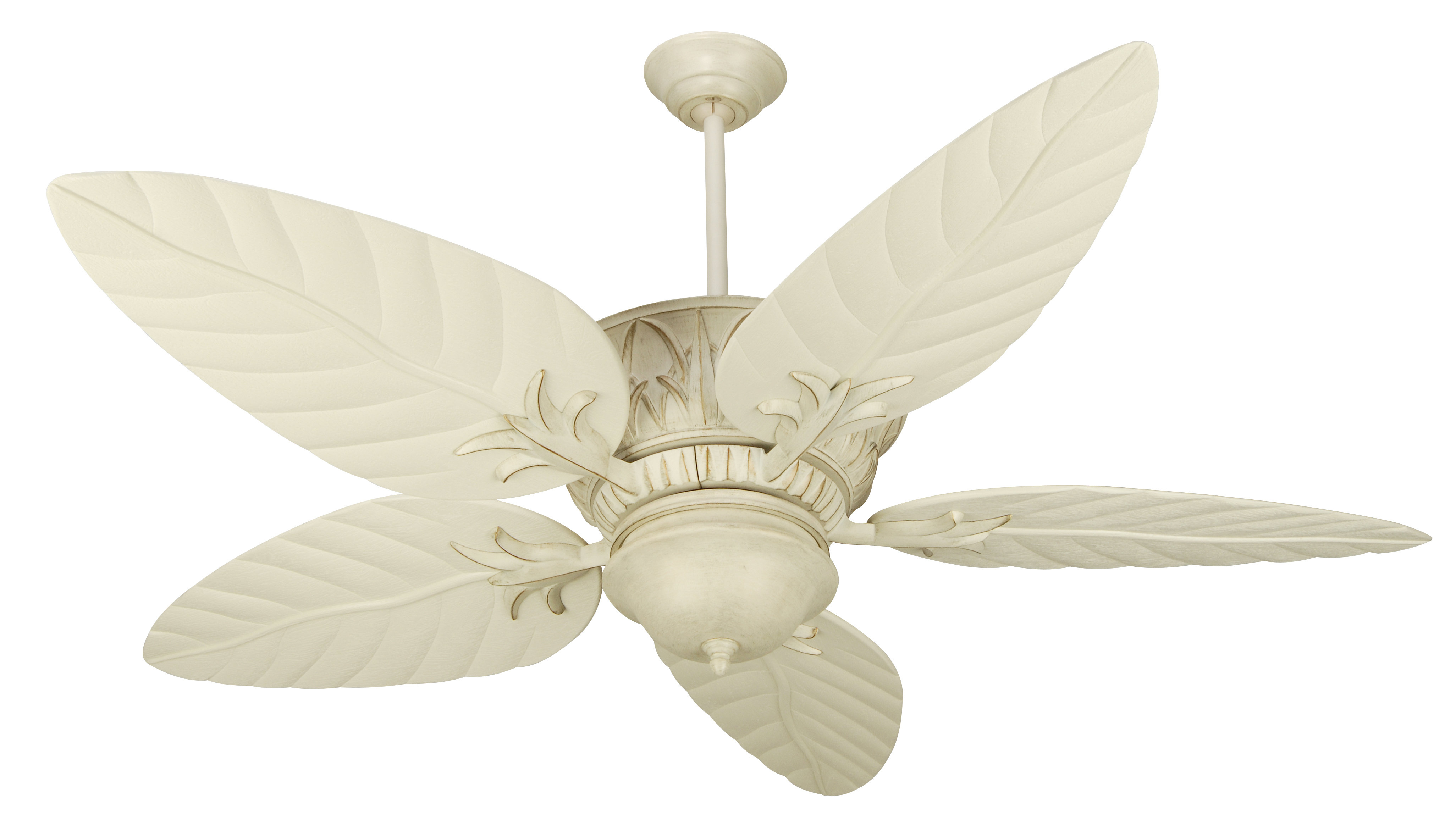 "Most Popular 52"" Benita 5 Blade Led Ceiling Fan Within Caribbean Breeze 5 Blade Ceiling Fans (View 13 of 20)"