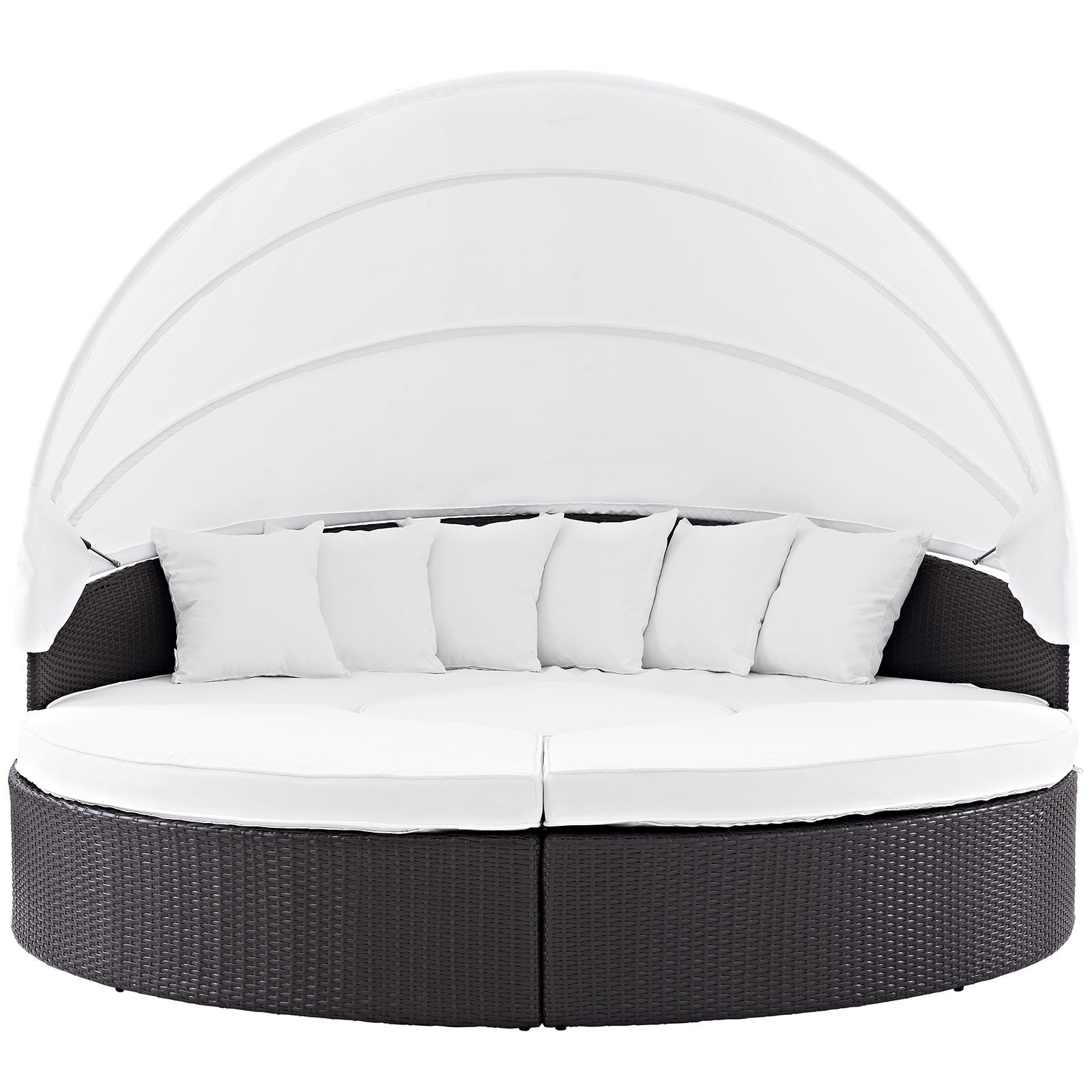 Most Popular Brentwood Patio Daybed With Cushions Regarding Brentwood Patio Daybeds With Cushions (View 13 of 25)