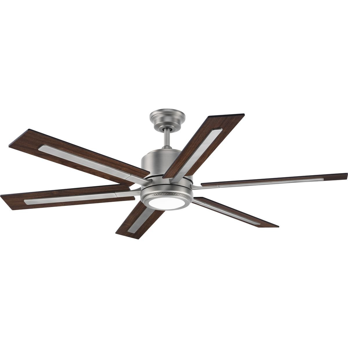 Most Popular Cillian 6 Blade Ceiling Fans Regarding Lesure 6 Blade Led Ceiling Fan With Remote (View 14 of 20)
