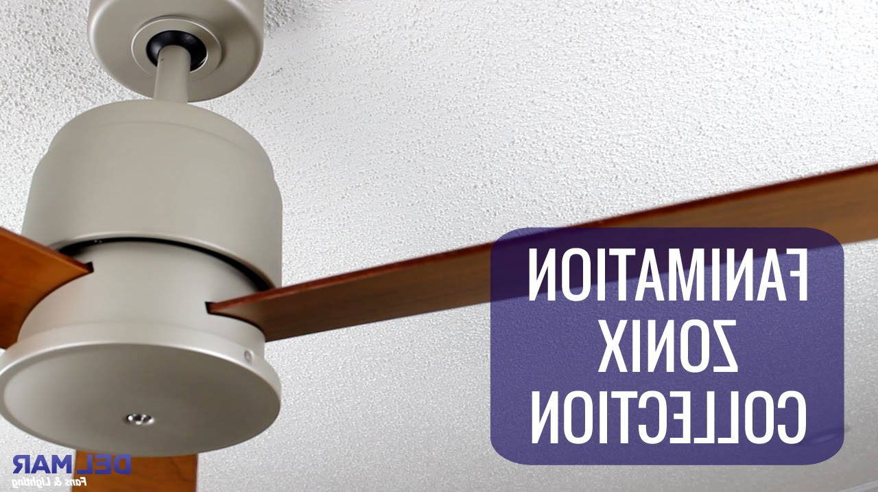 Most Popular Fanimation Zonix Ceiling Fan Collection With Zonix 3 Blade Ceiling Fans (View 5 of 20)