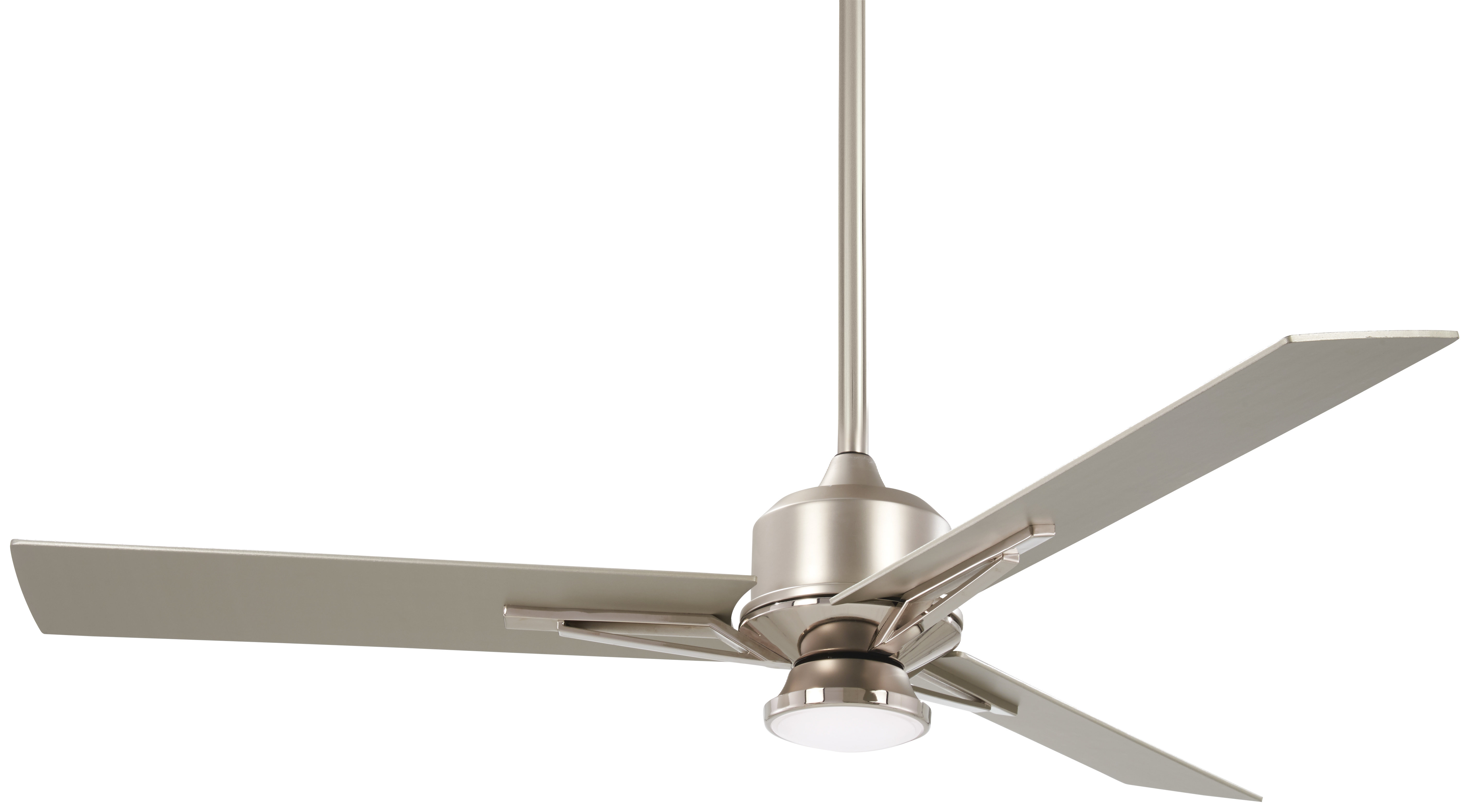 """Most Popular Java 3 Blade Outdoor Led Ceiling Fans Intended For 56"""" Metropolis 3 Blade Led Ceiling Fan With Remote (View 15 of 20)"""
