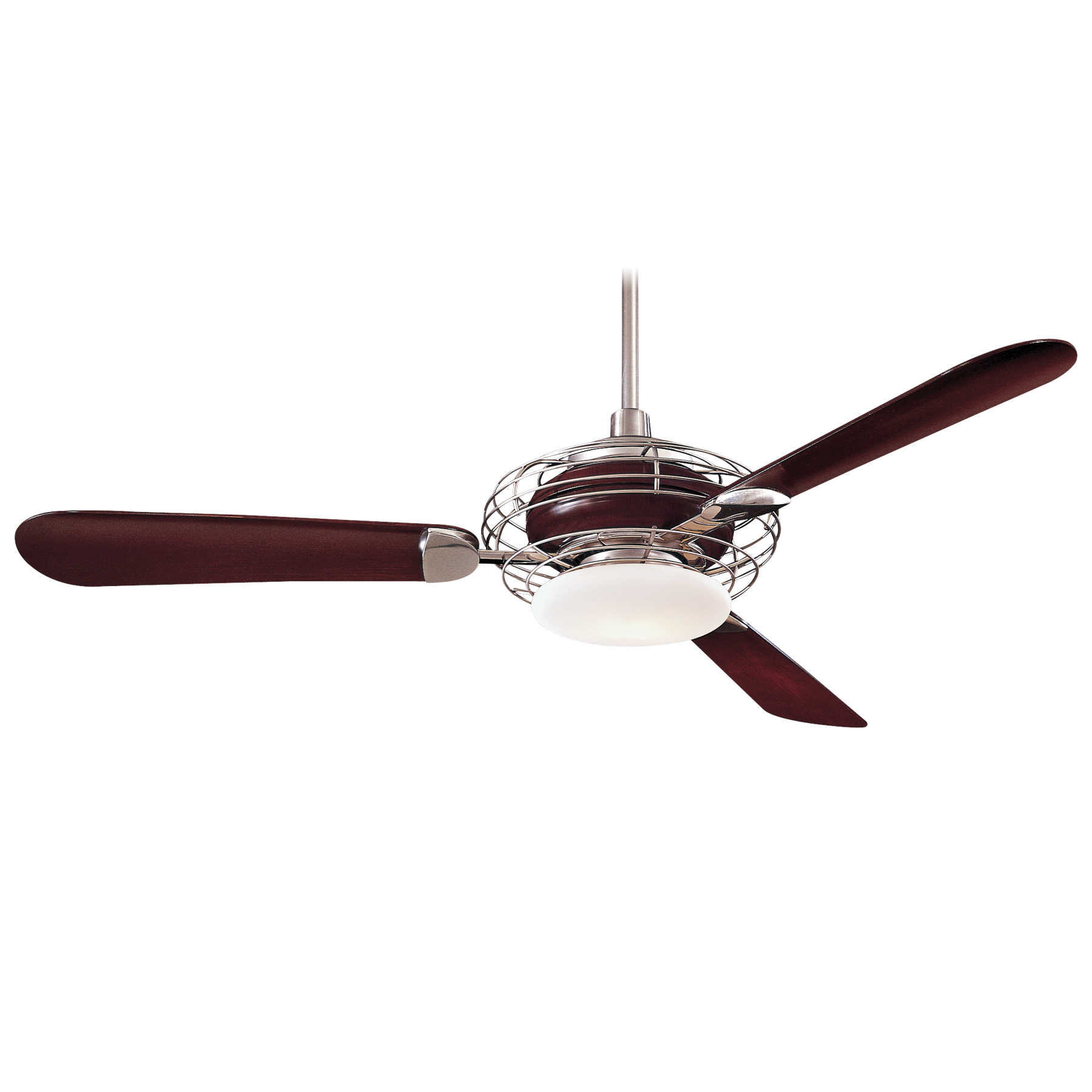 Most Popular Minka Group® :: Brands :: Minka Aire® :: F601 Bs/mg With Kewl 3 Blade Ceiling Fans (View 17 of 20)