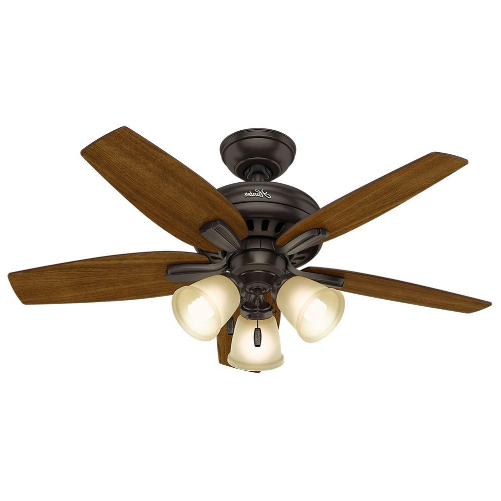 Most Popular Newsome 5 Blade Ceiling Fans For Hunter Newsome 42 In (View 10 of 20)