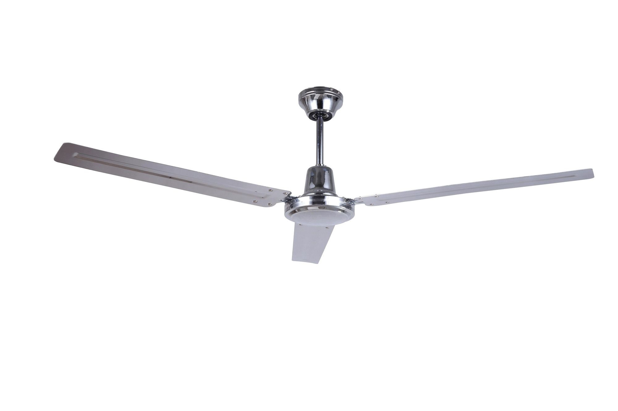 """Most Popular Zonix 3 Blade Ceiling Fans Inside Boan 56"""" Industrial 3 Blade Ceiling Fan With Remote (View 11 of 20)"""