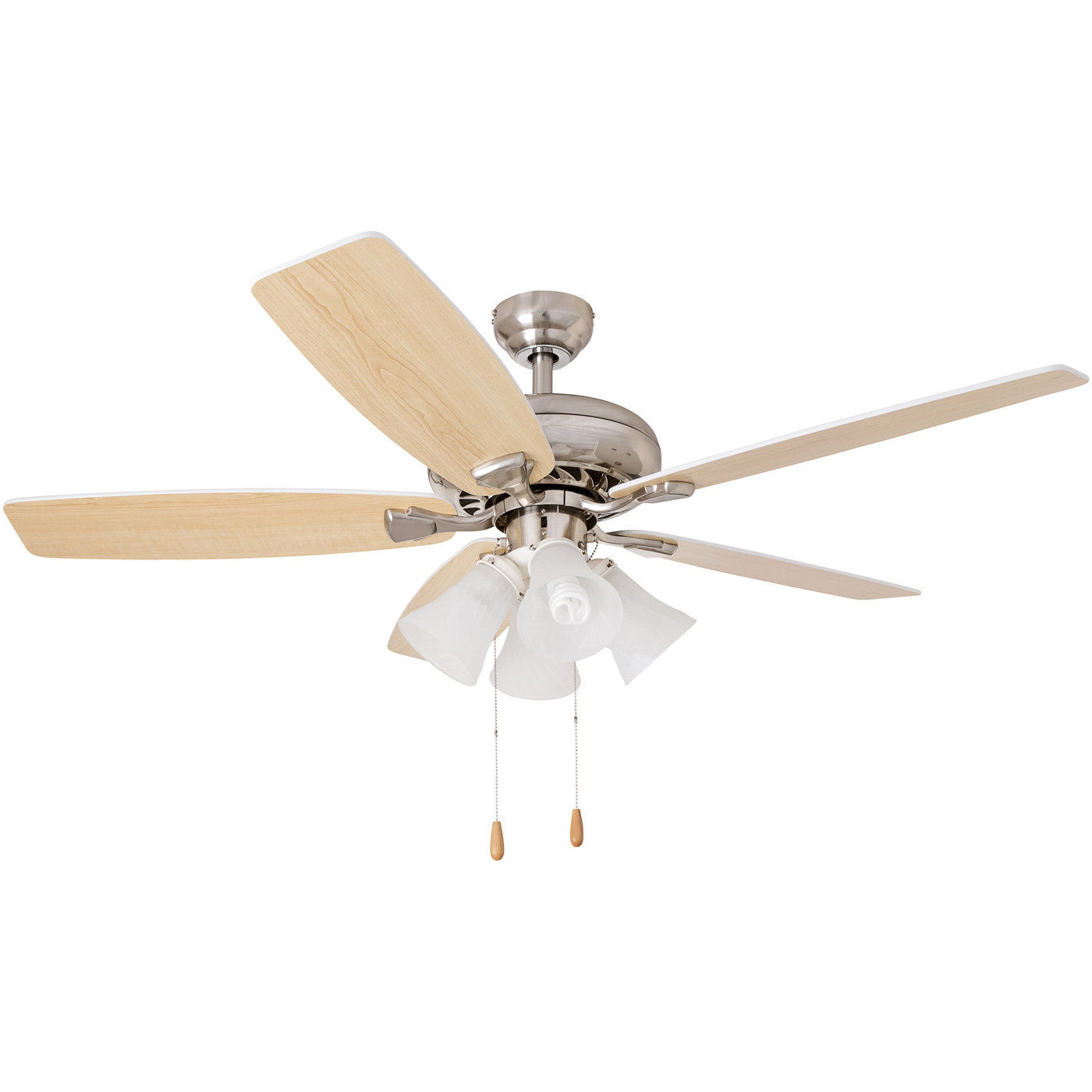 "Most Recent 52"" Minnich Contemporary 5 Blade Ceiling Fan Throughout Sven 5 Blade Ceiling Fans (View 3 of 20)"