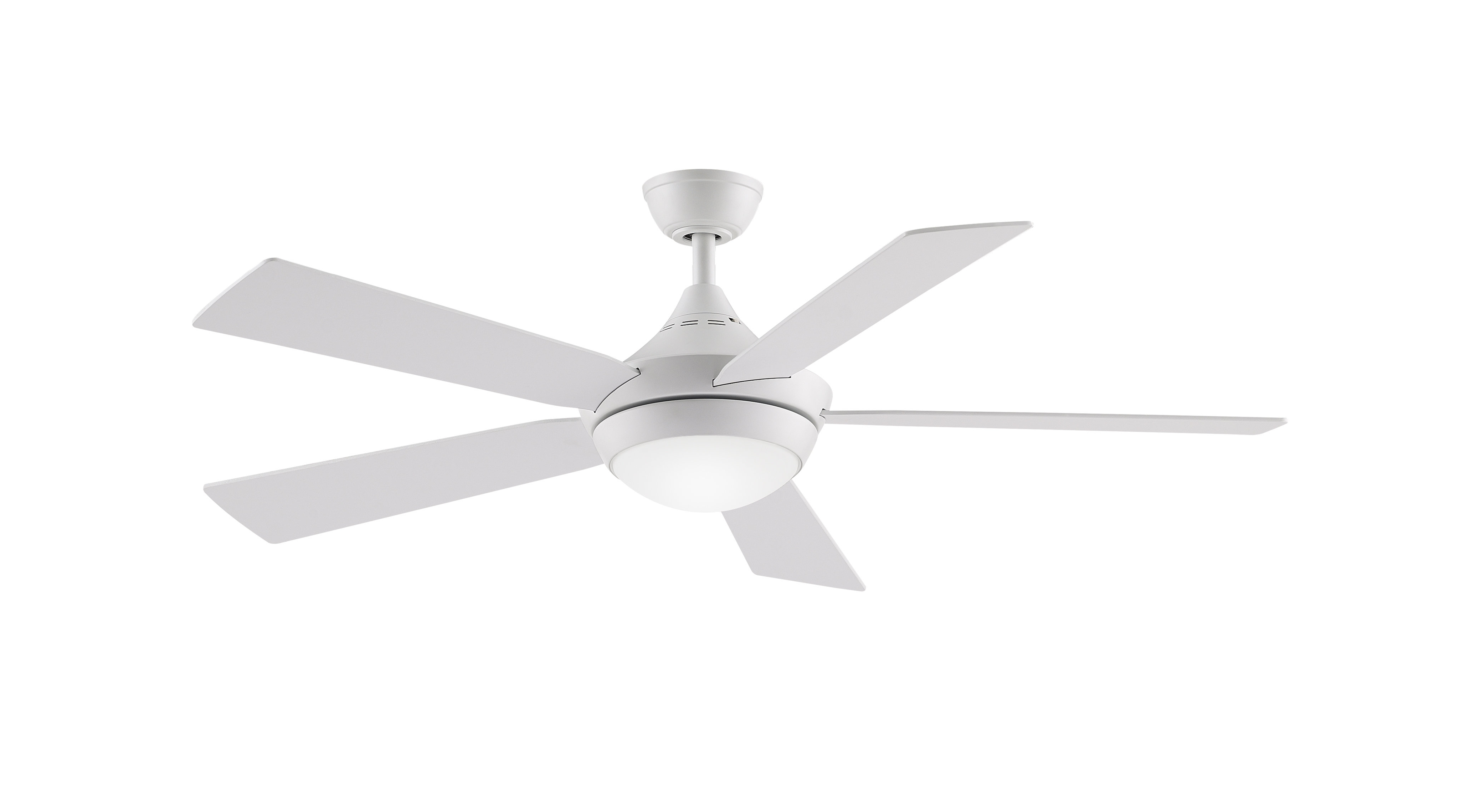 """Most Recent Calkins 5 Blade Ceiling Fans In 52"""" Darrion 5 Blade Led Ceiling Fan With Remote, Light Kit Included (View 17 of 20)"""