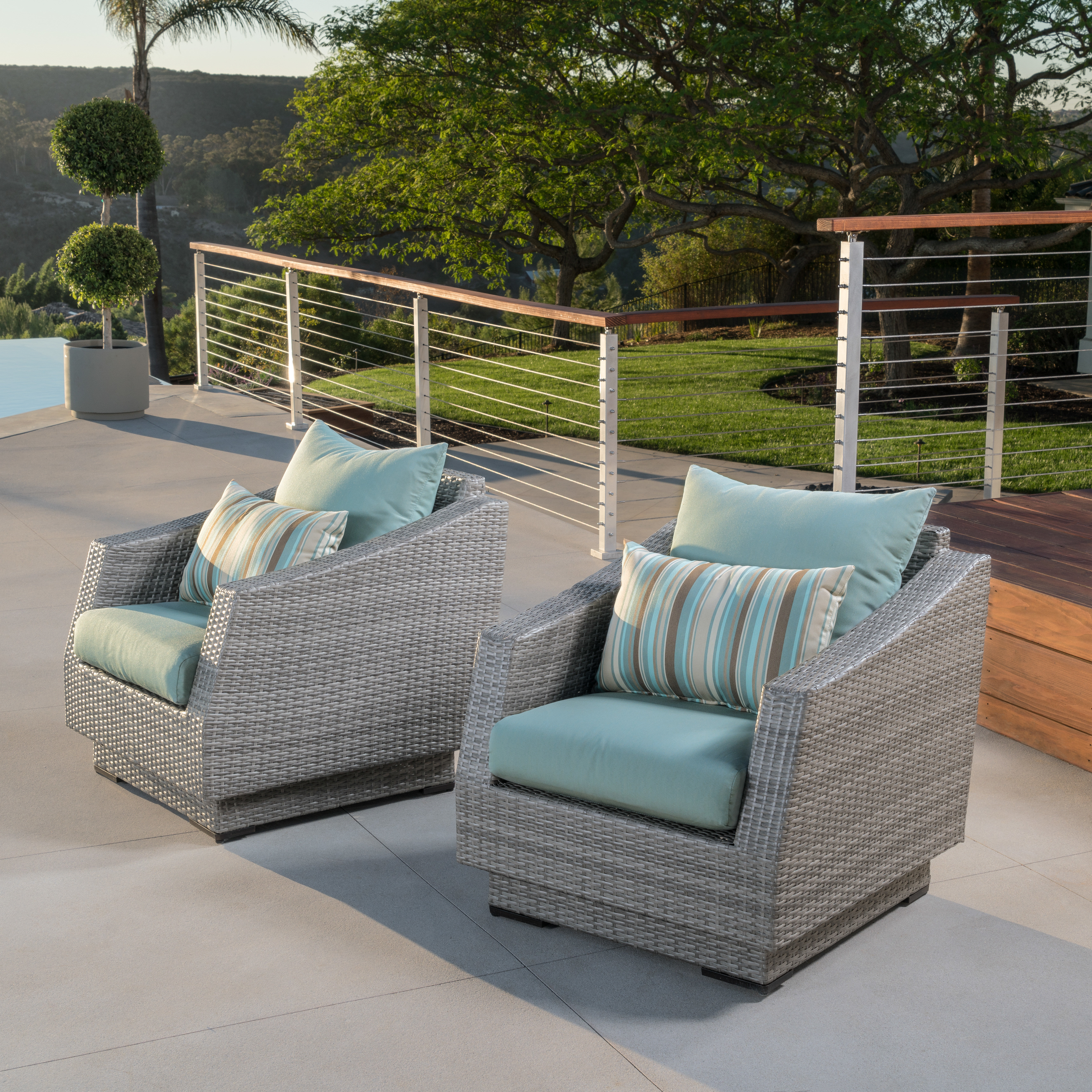Most Recent Castelli Patio Chair With Acrylic Or Sunbrella Cushions For Castelli Patio Sofas With Sunbrella Cushions (View 15 of 20)