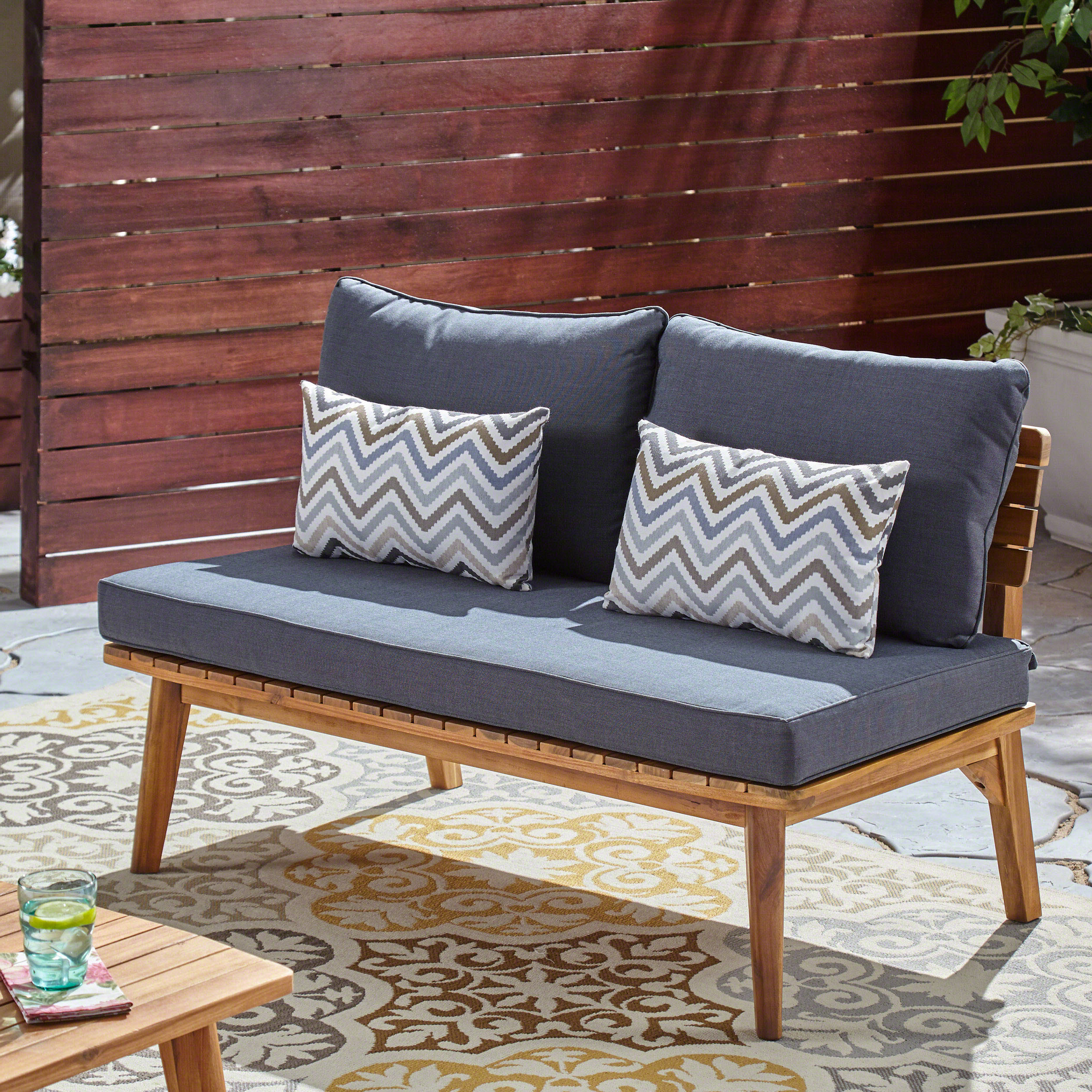 Most Recent Eller Loveseat With Cushions Throughout Lyall Loveseats With Cushion (View 12 of 20)