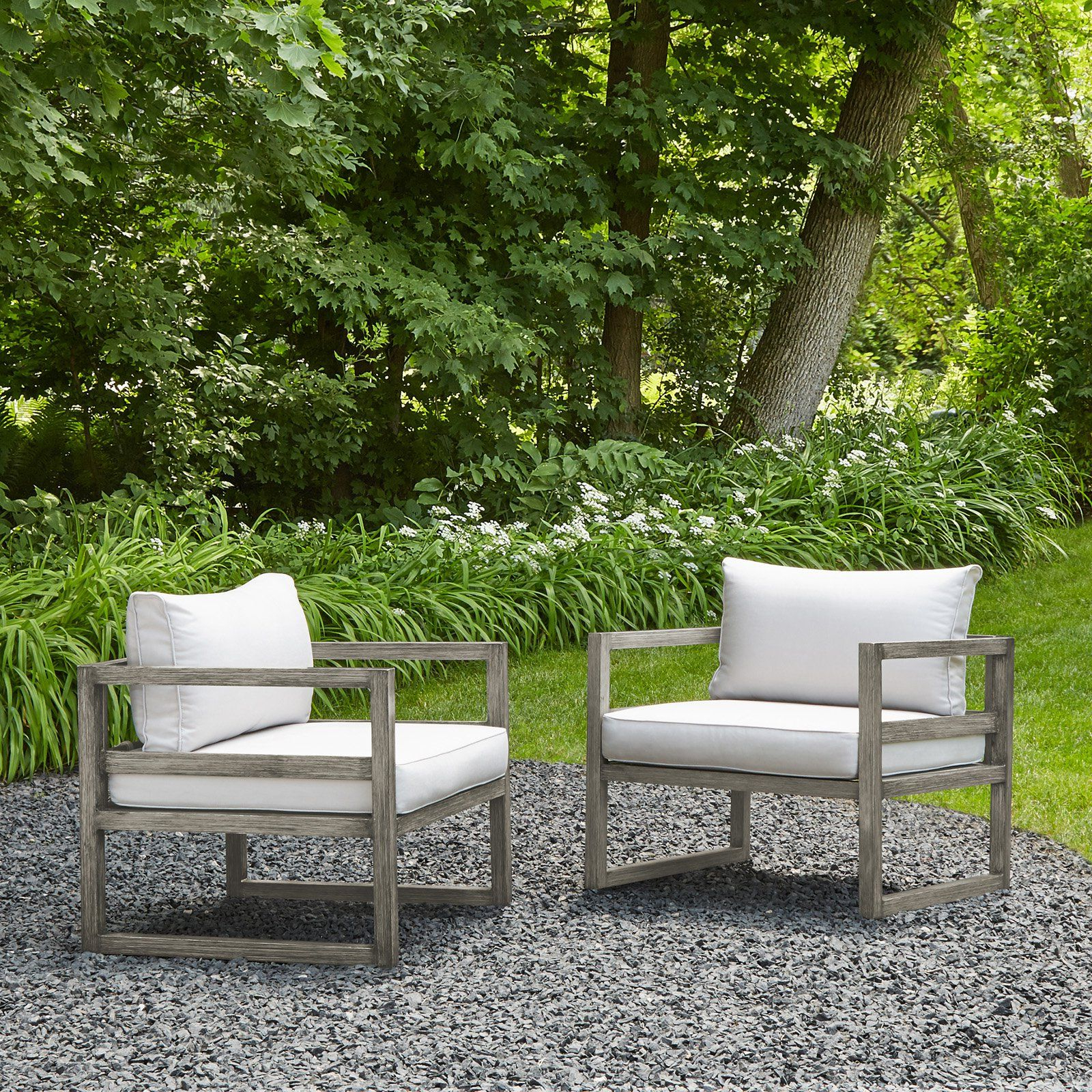 Most Recent Keiran Patio Sofas With Cushions Regarding Outdoor Real Flame Monaco Patio Chairs – Set Of 2 – 1171 Baw (View 20 of 20)