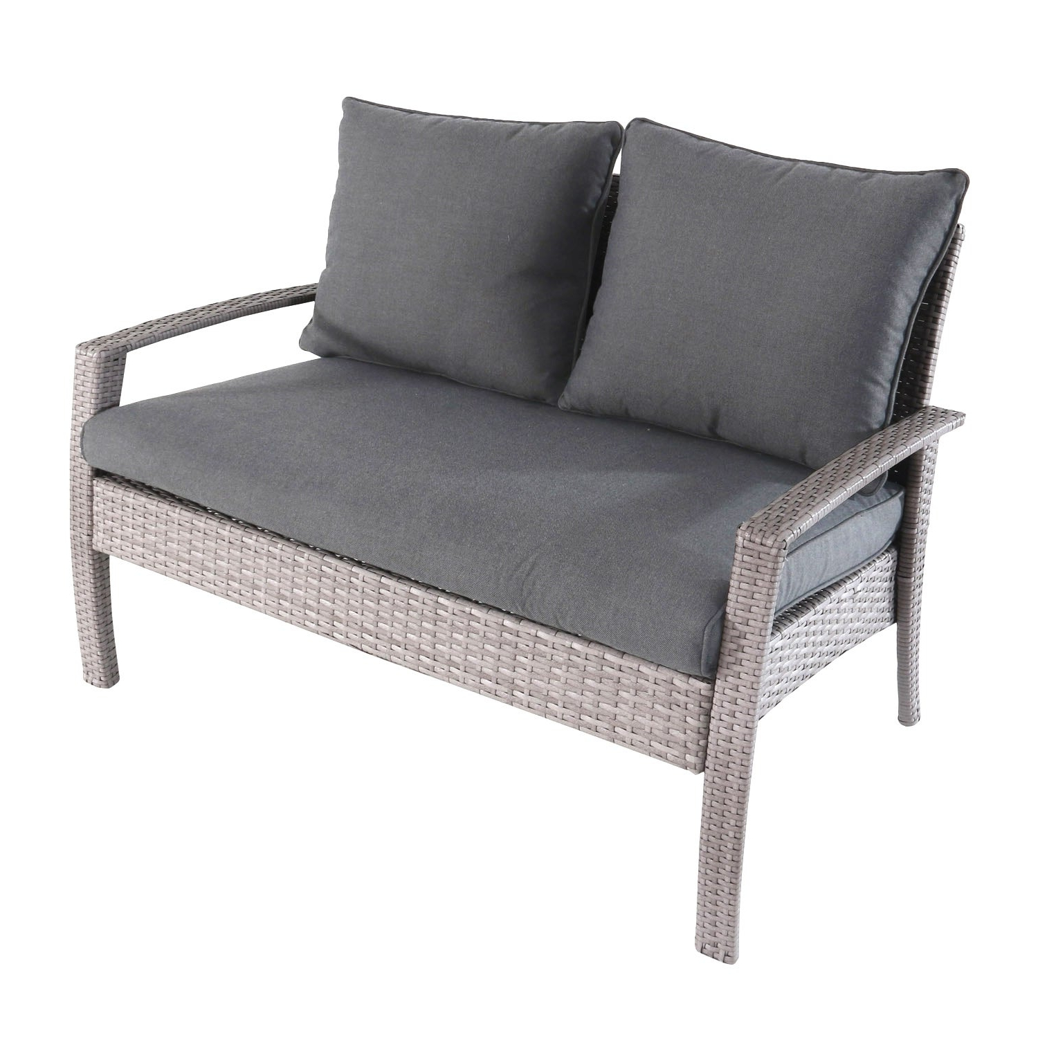 Most Recent Kentwood Resin Wicker Loveseats Within Outdoor Sofas And Loveseats – Home Decor (View 14 of 20)