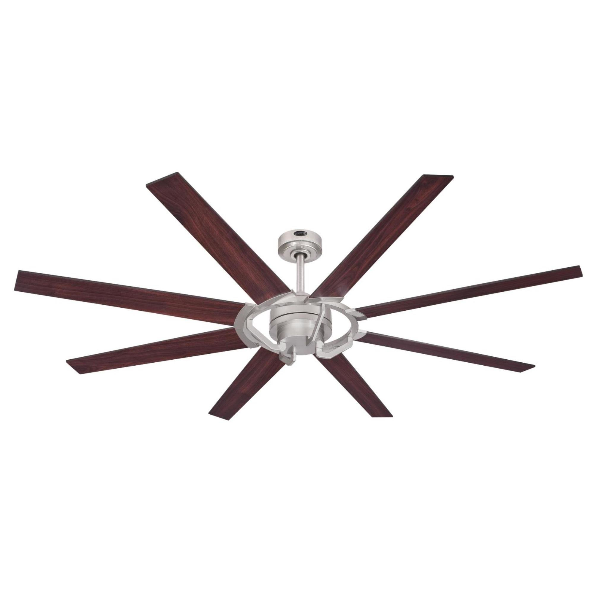 "Most Recent Levon 8 Blade Ceiling Fans Inside 68"" Ennis 8 Blade Ceiling Fan With Remote (View 4 of 20)"