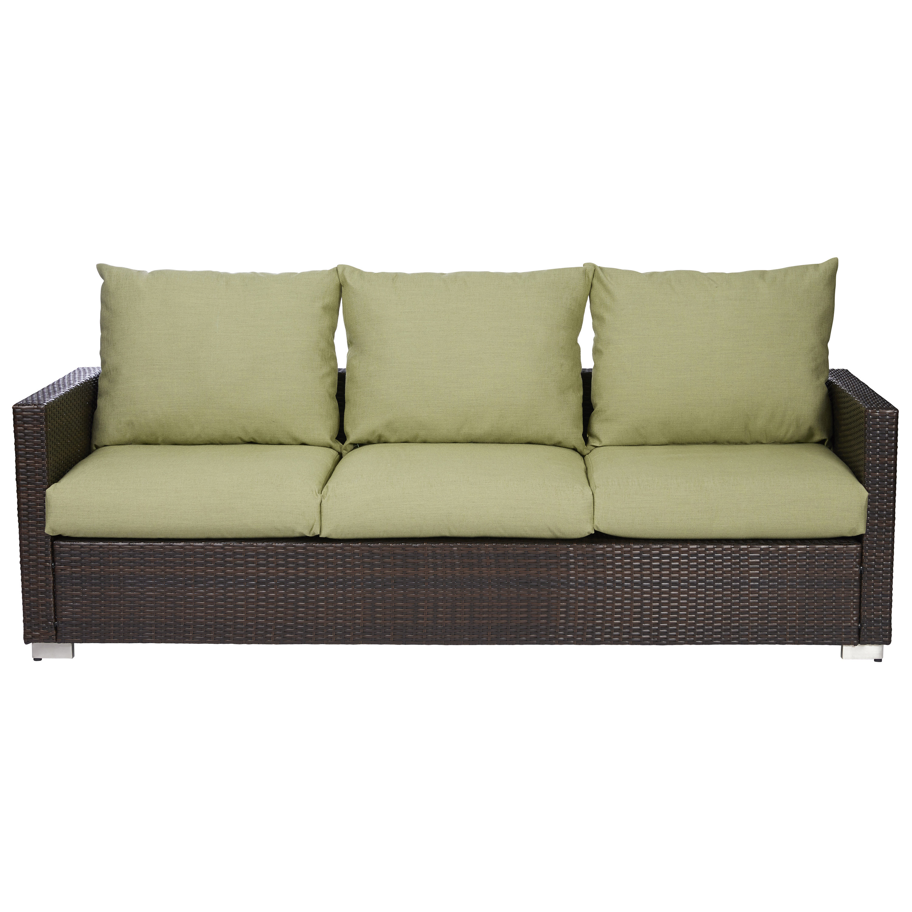 Most Recent Mcmanis Patio Sofa With Cushion In Hursey Patio Sofas (View 8 of 20)