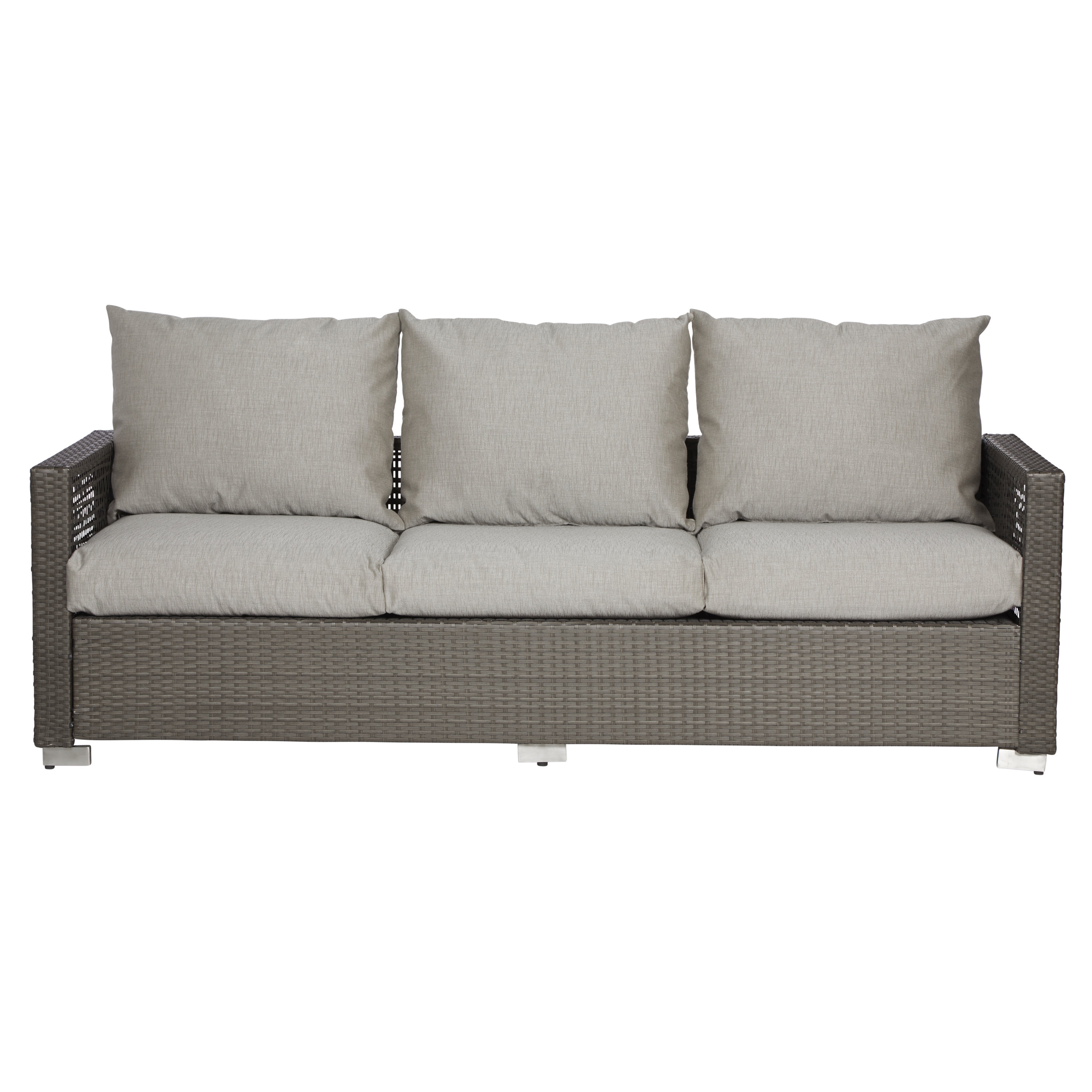 Most Recent Mcmanis Patio Sofa With Cushions In Katzer Patio Sofas With Cushions (View 8 of 20)