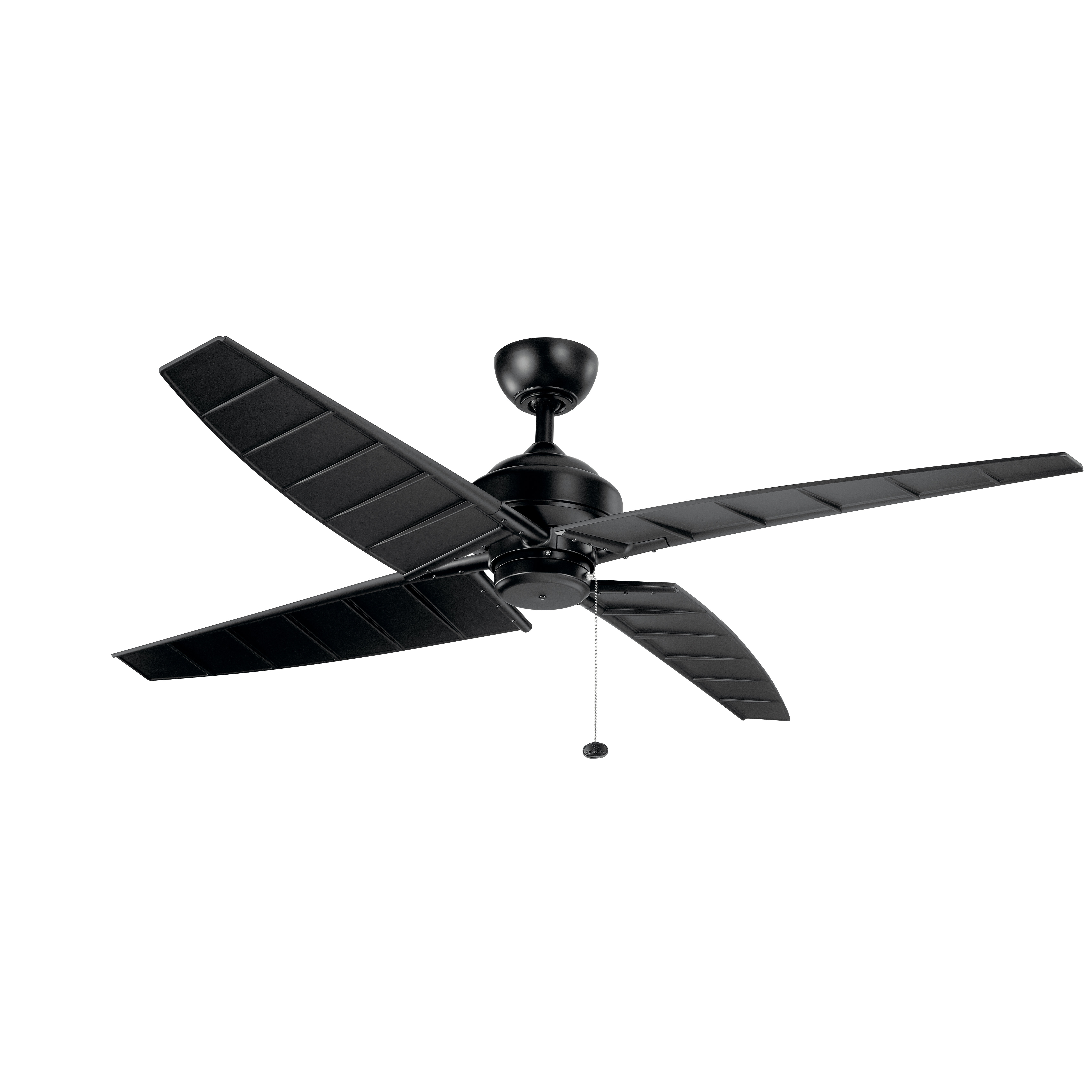 "Most Recent Saito 6 Blade Ceiling Fans With 60"" Tristin 4 Blade Outdoor Ceiling Fan (View 12 of 20)"