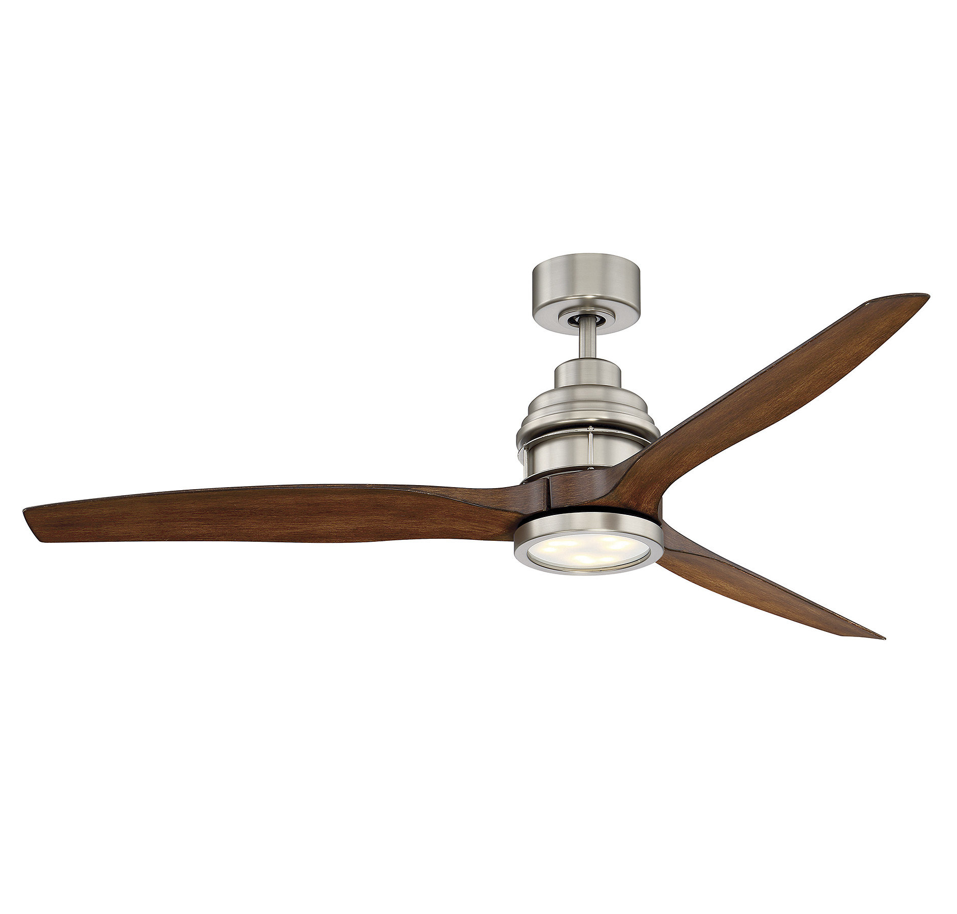 "Most Recent Troy 3 Blade Led Ceiling Fans With 60"" Harmoneyq 3 Blade Ceiling Fan With Remote & Reviews (View 9 of 20)"