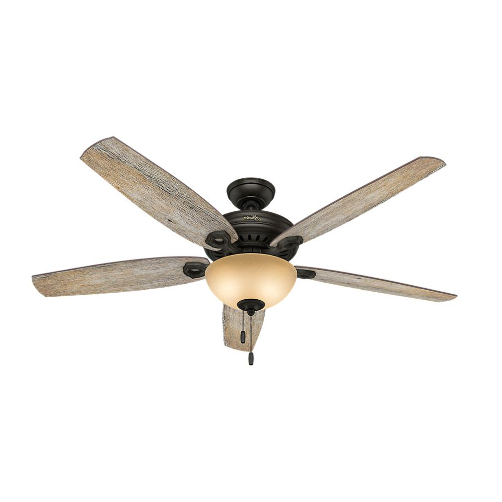 Most Recent Valerian 5 Blade Ceiling Fans Intended For Hunter Valerian 60 In (View 10 of 20)