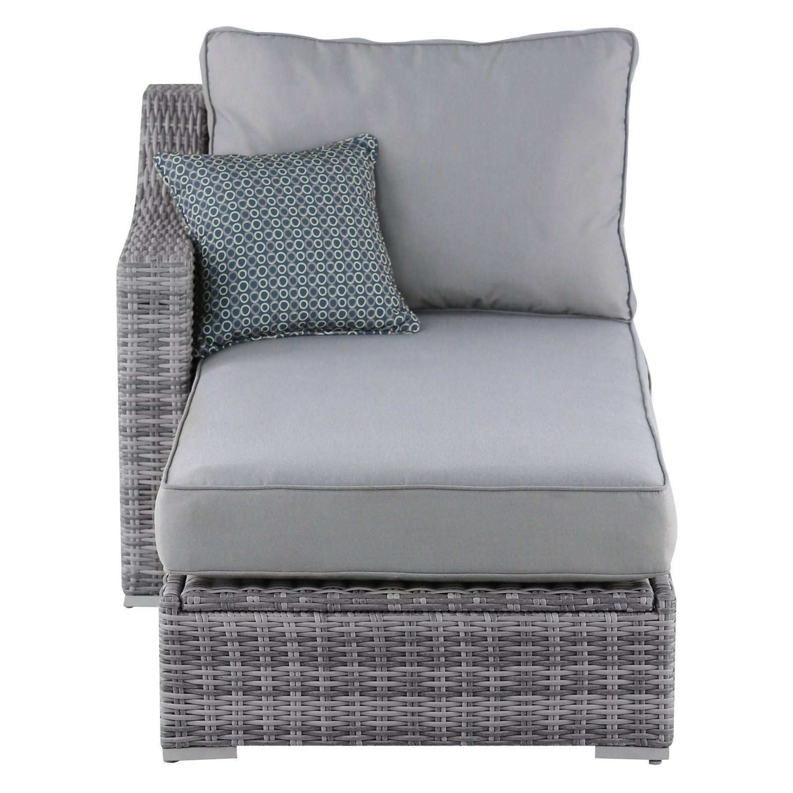 Most Recent Vallauris Sofa With Cushions Intended For Vallauris Wicker Patio Storage Sectional Sofa (View 7 of 20)