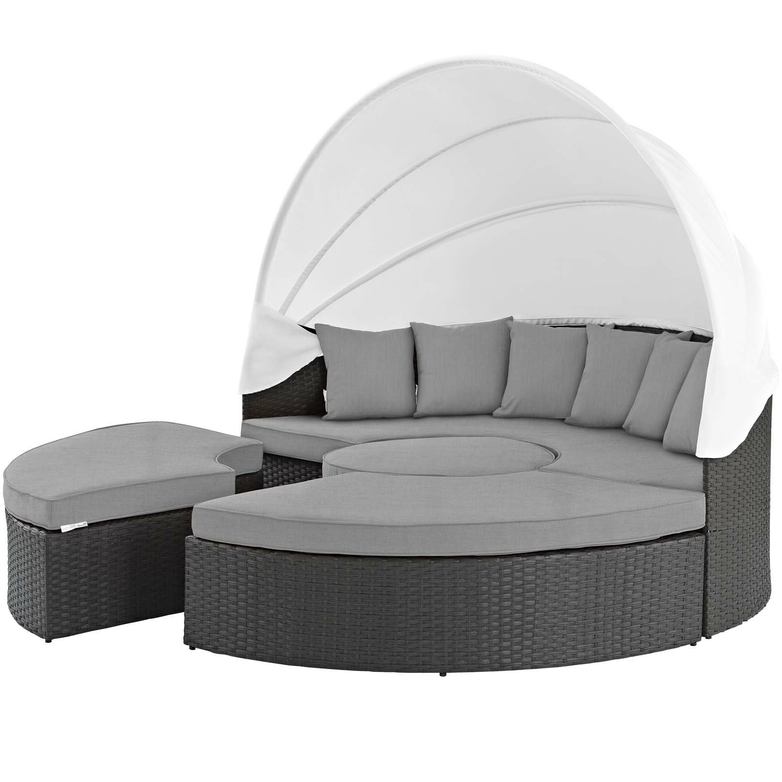 Most Recently Released Bishop Daybed Within Carrasco Patio Daybeds With Cushions (View 17 of 20)