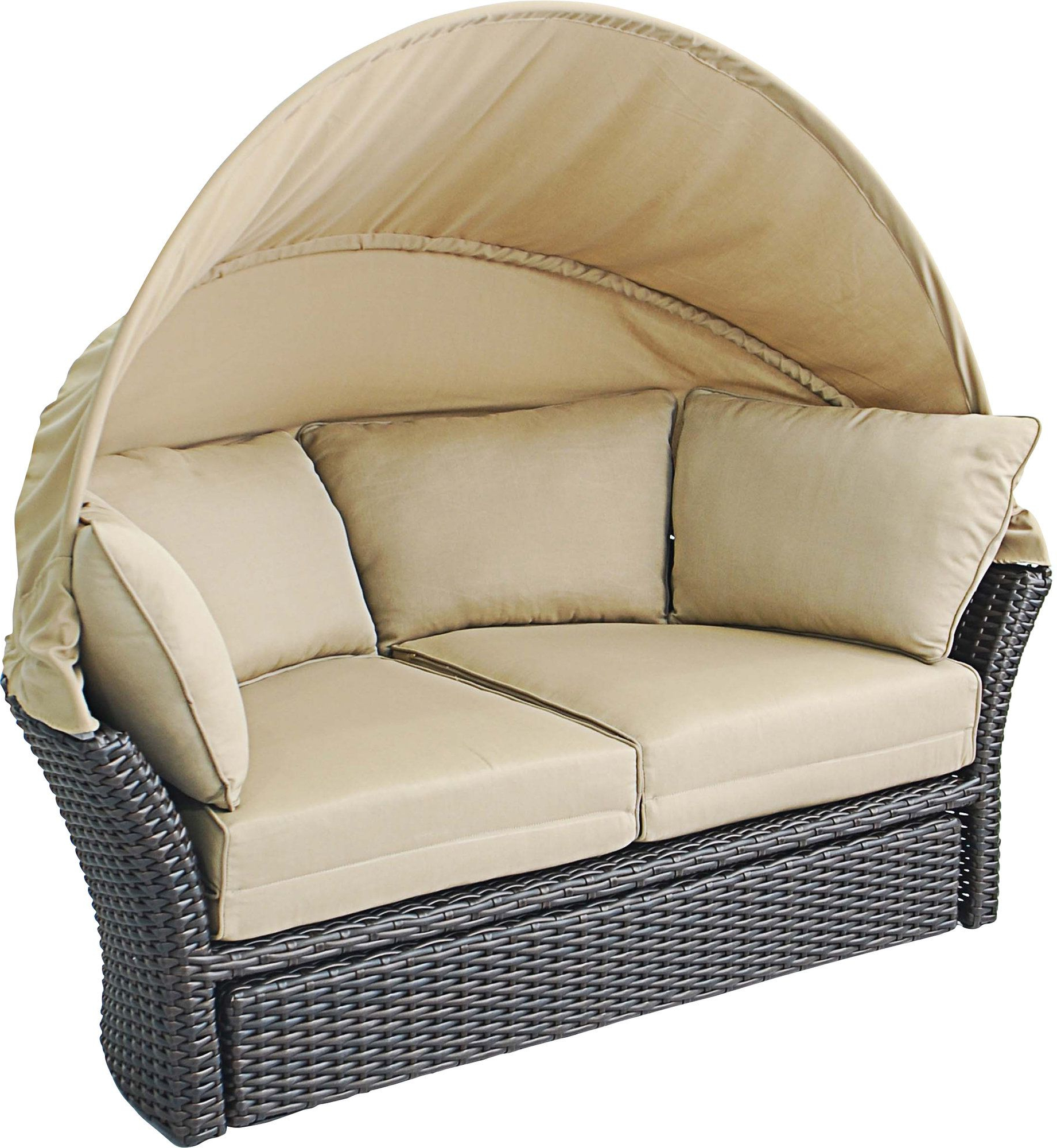 Most Recently Released Brentwood Patio Daybeds With Cushions Inside Seagle Daybed With Cushions (View 14 of 25)