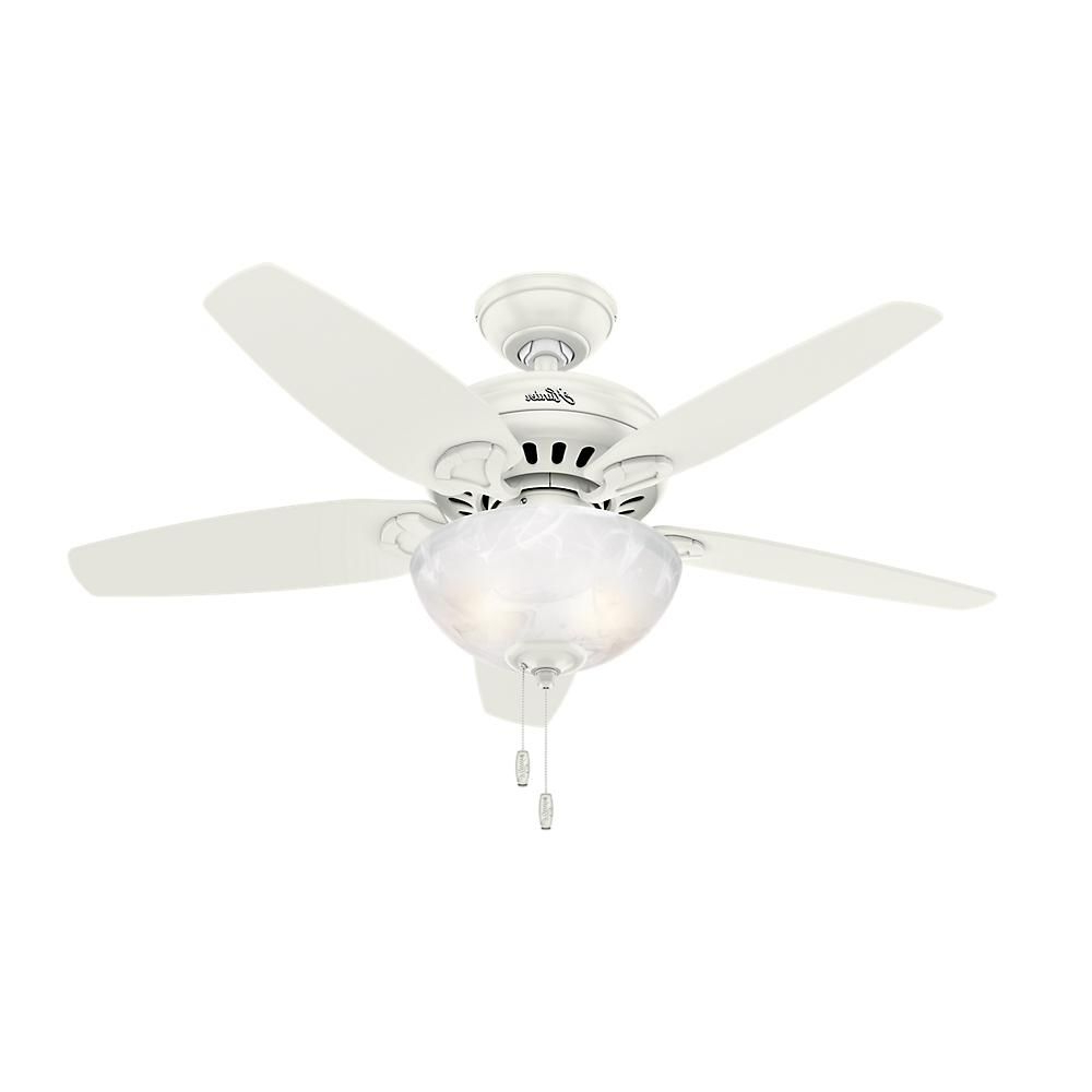 Most Recently Released Crumbley 5 Blade Ceiling Fans Pertaining To Hunter Cedar Park 44 In (View 16 of 20)