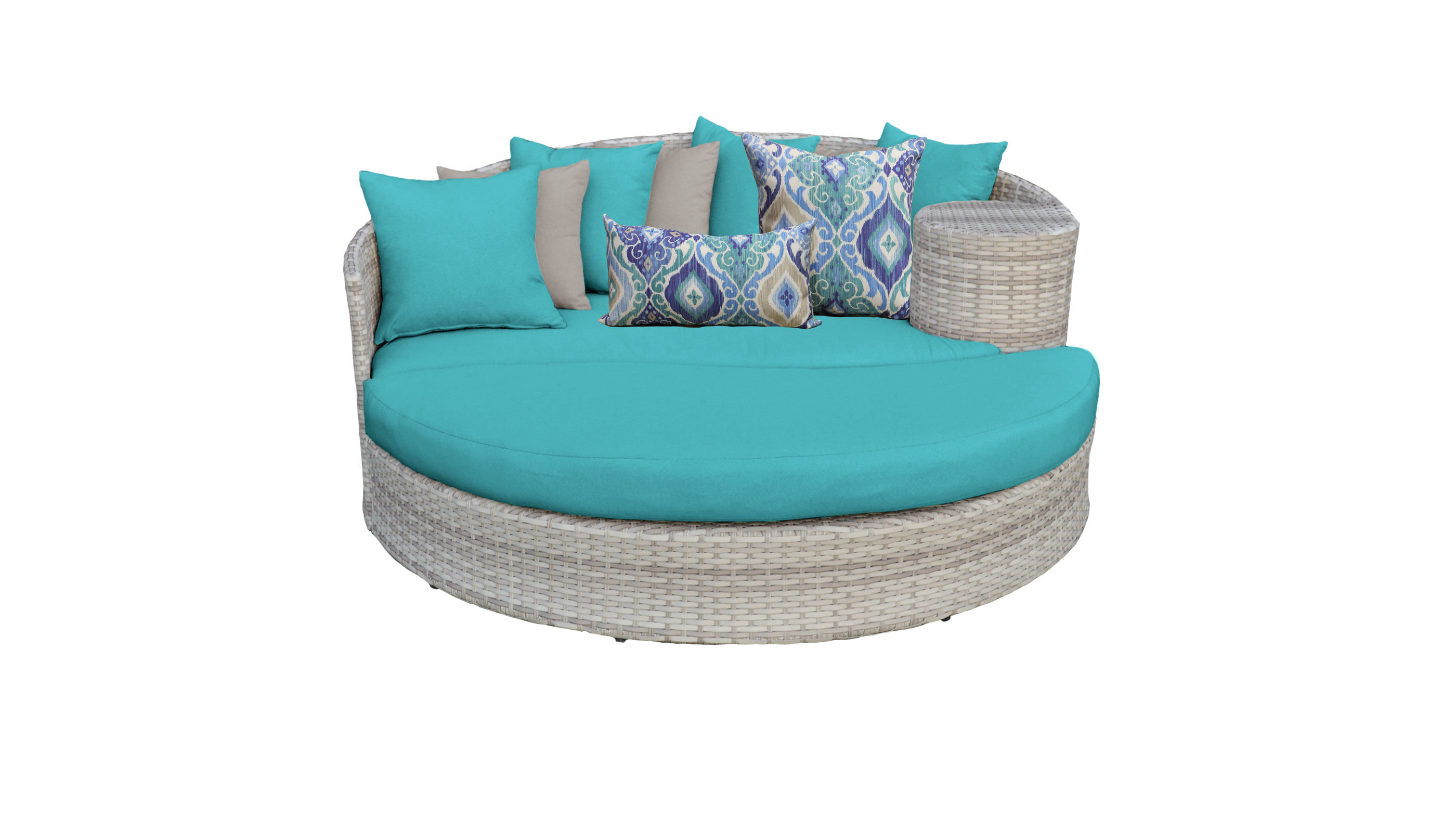 Most Recently Released Falmouth Patio Daybed With Cushions In Freeport Patio Daybeds With Cushion (View 7 of 20)