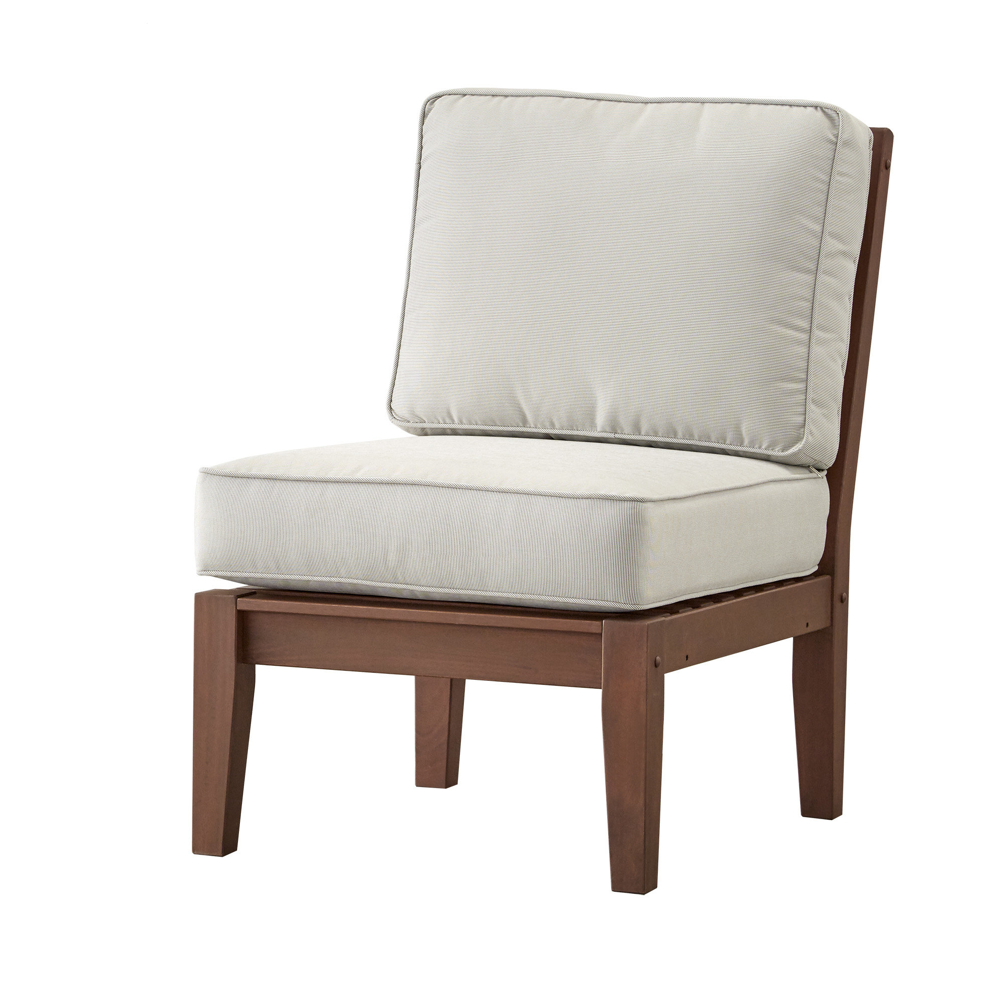 Most Recently Released Hursey Armless Chair With Cushion Pertaining To Hursey Patio Sectionals (View 15 of 20)