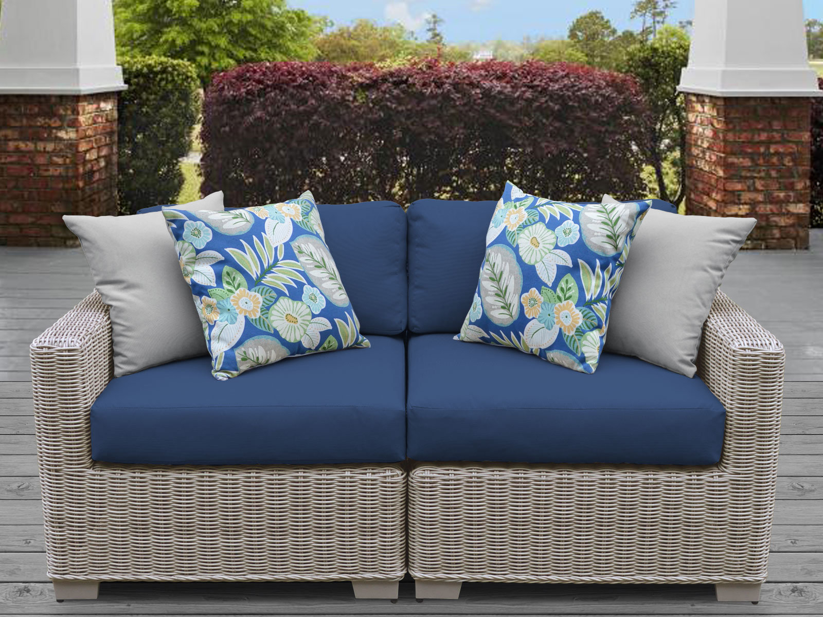 Most Recently Released Loggins Loveseats With Cushions Pertaining To Claire Loveseat With Cushions (View 7 of 20)