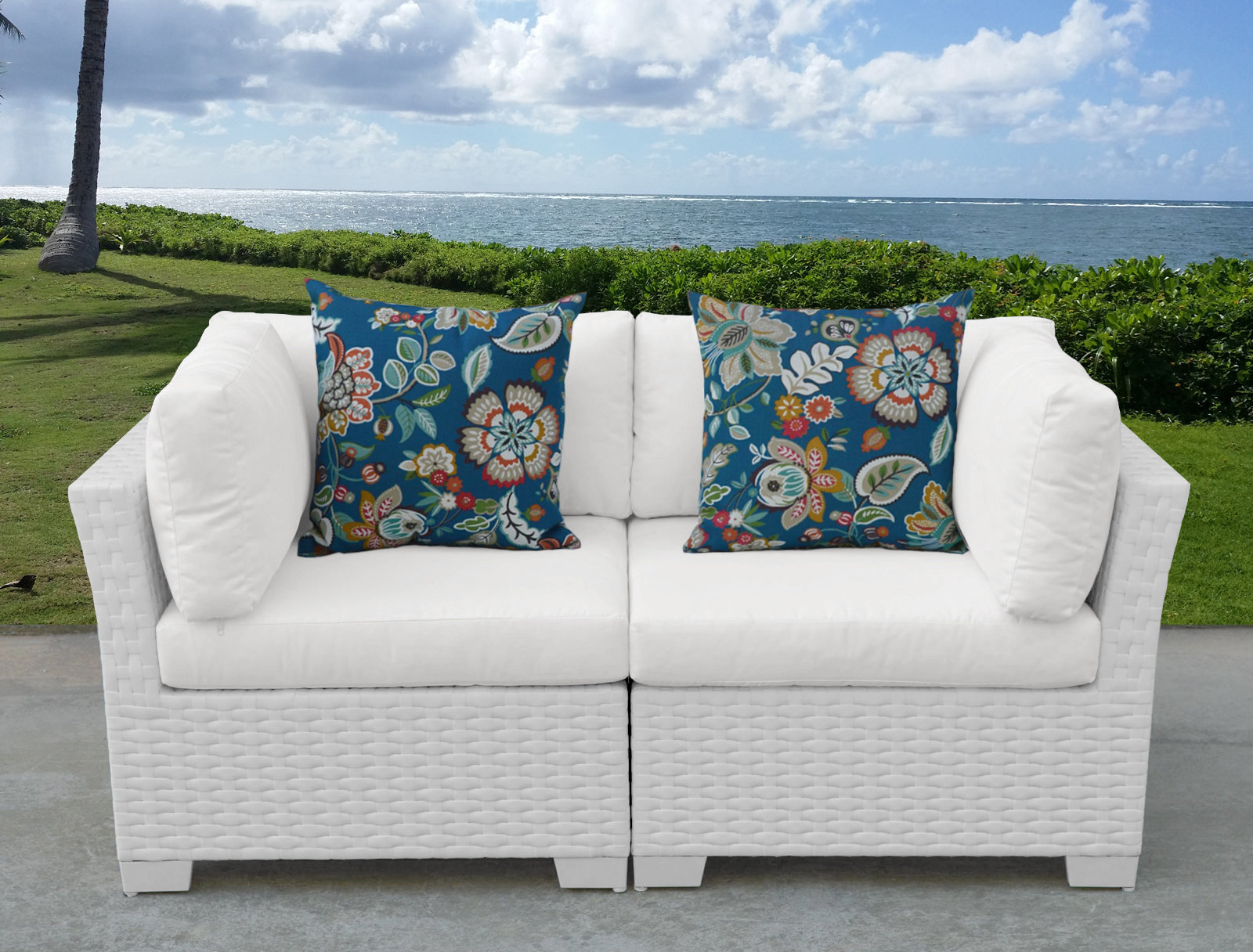 Most Recently Released Monaco Outdoor Loveseat With Cushions Within Baltic Loveseats With Cushions (View 25 of 25)