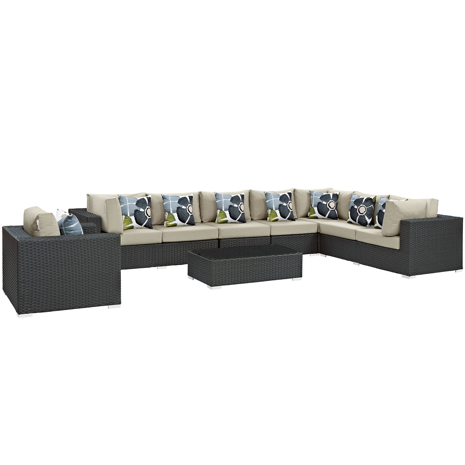 Most Recently Released Tripp 7 Piece Sunbrella Sectional Sofa With Cushions Throughout Tripp Sofa With Cushions (View 12 of 20)