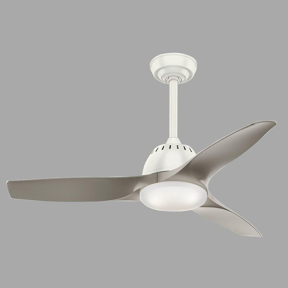 Most Recently Released Wisp 3 Blade Led Ceiling Fans Pertaining To Casablanca Wisp 44 In (View 9 of 20)