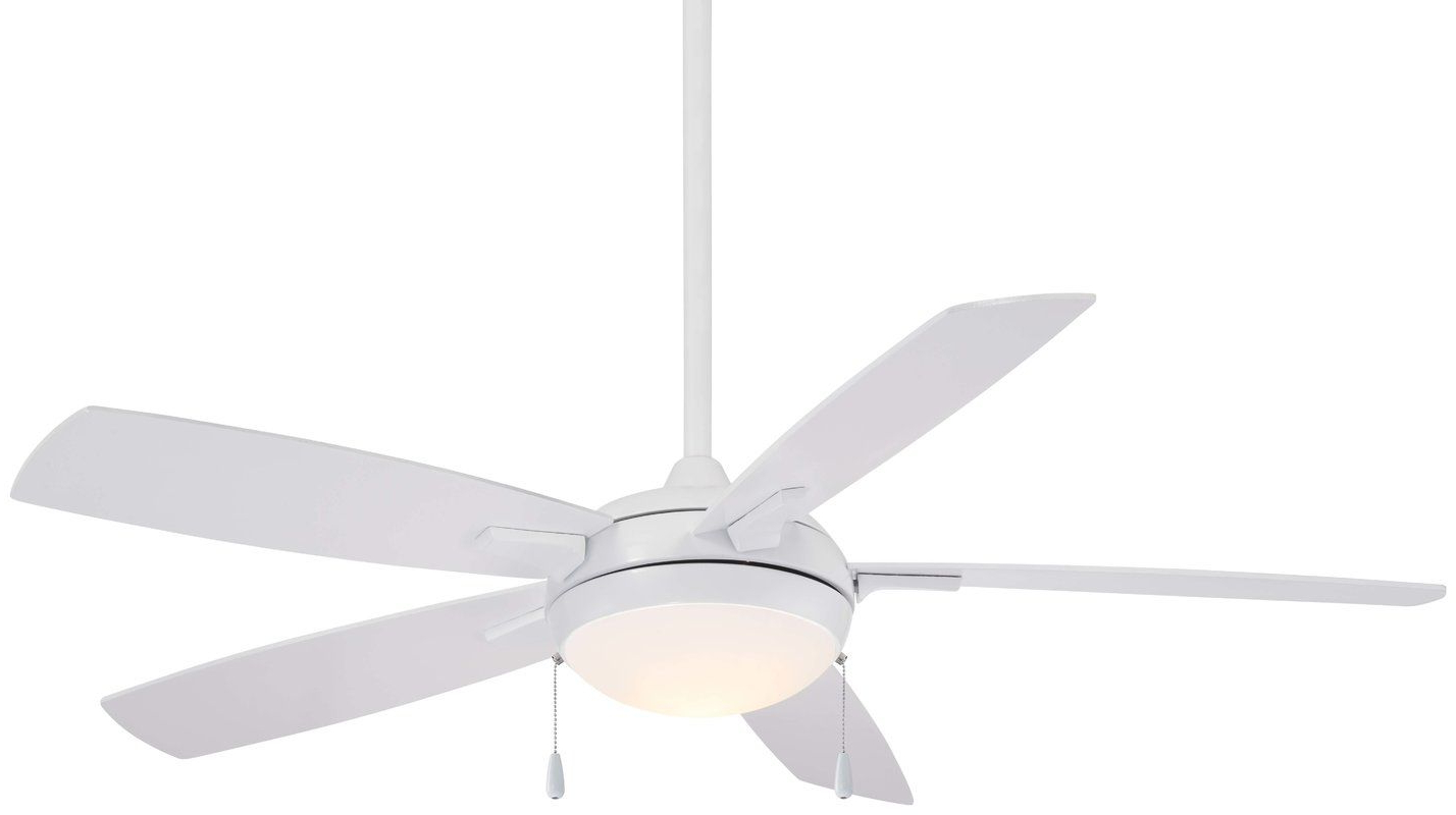 "Most Up To Date 54"" Lun Aire Led 5 Blade Ceiling Fan In  (View 18 of 20)"