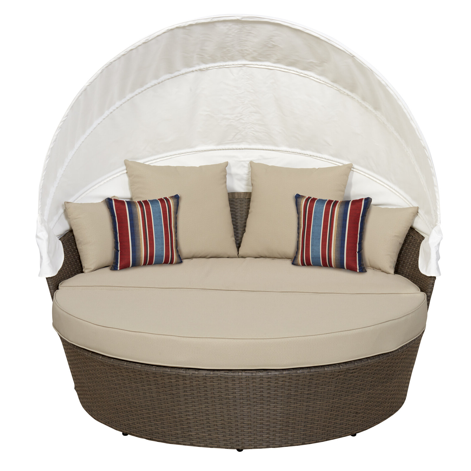 Most Up To Date Beal Patio Daybeds With Cushions With Regard To Sasser Patio Daybed With Cushions (View 17 of 25)