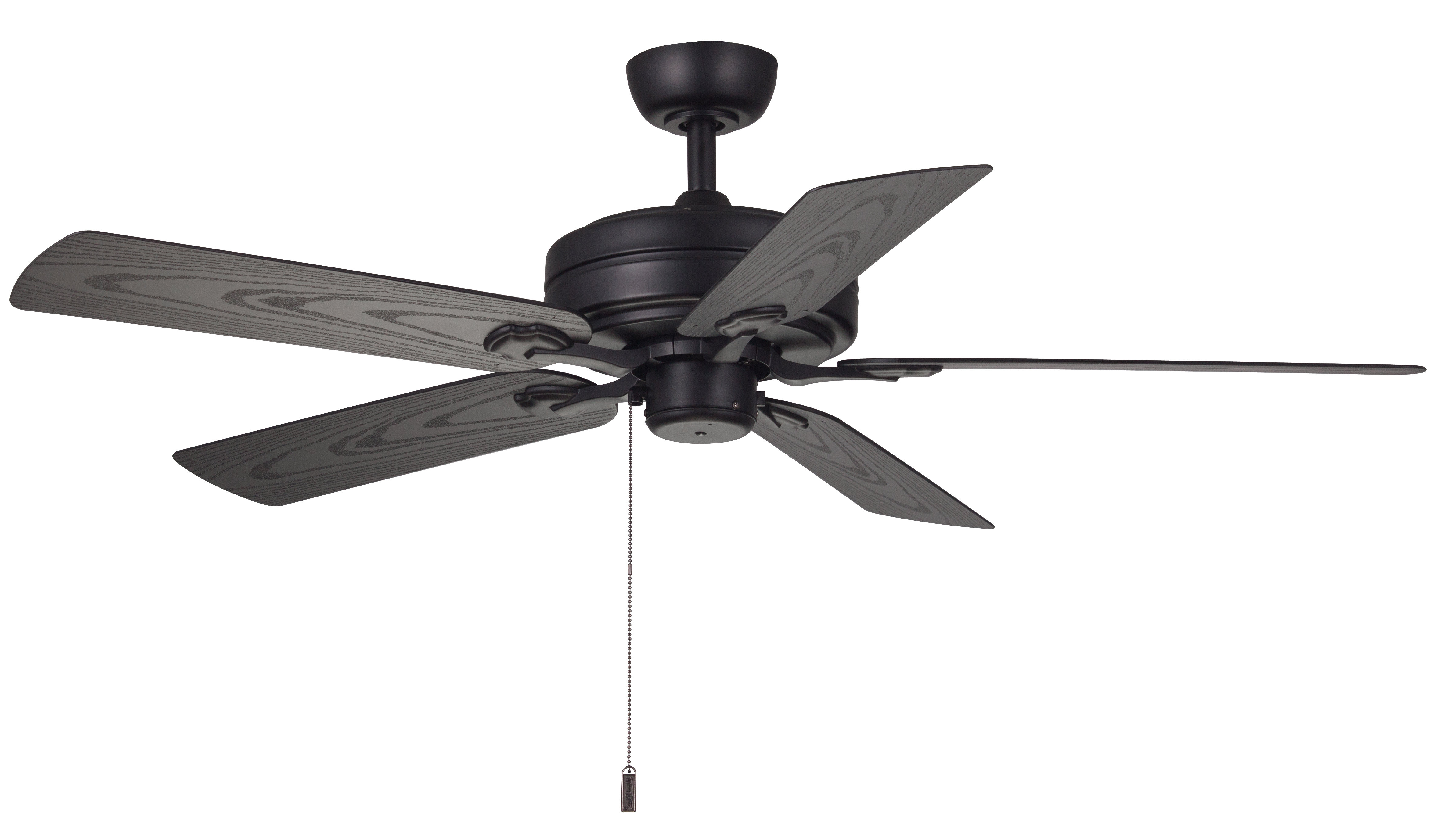 """Most Up To Date Blomquist 5 Blade Outdoor Ceiling Fans Throughout 52"""" Claverton 5 Blade Outdoor Ceiling Fan (View 16 of 20)"""